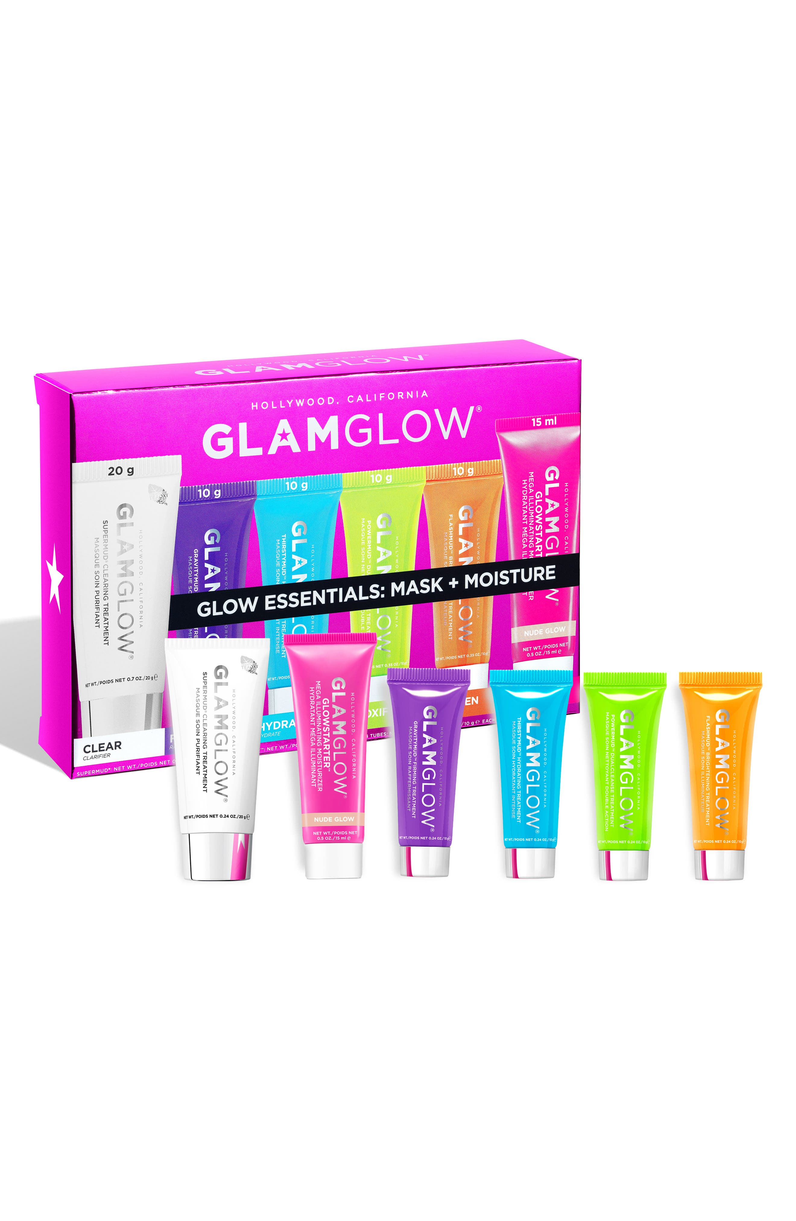 Glow Essentials: Mask + Moisture,                             Main thumbnail 1, color,                             NO COLOR