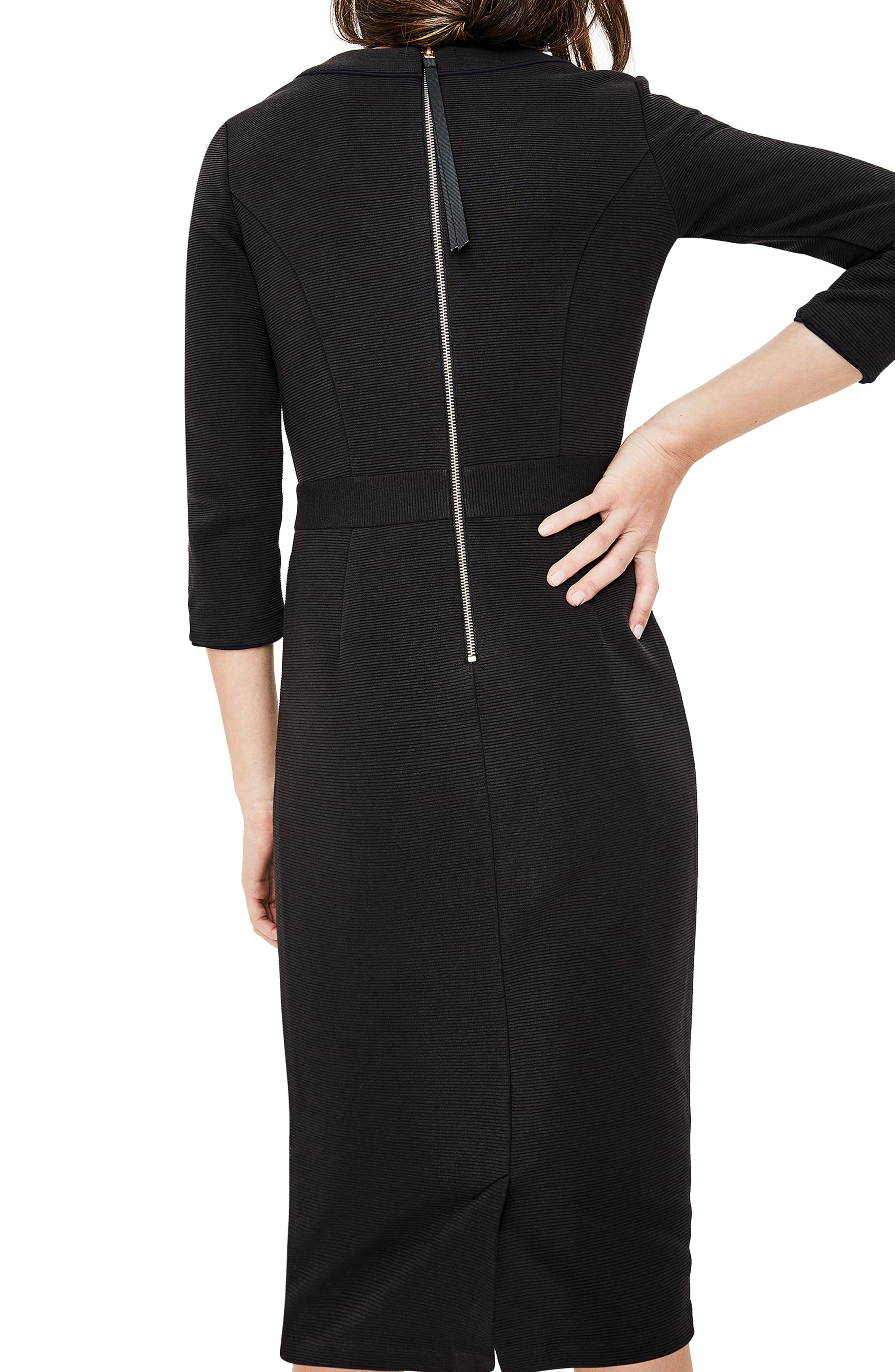 Mia Ottoman Dress,                             Alternate thumbnail 2, color,                             014