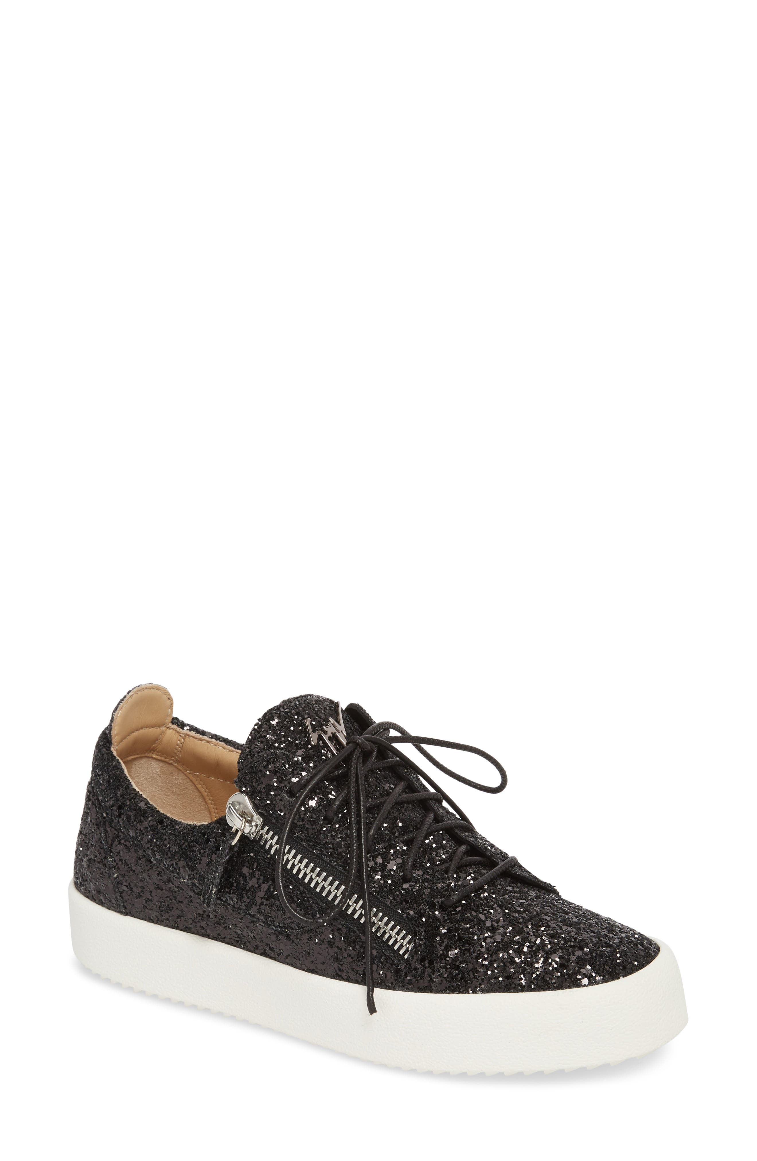 May London Low Top Sneaker,                         Main,                         color, BLACK
