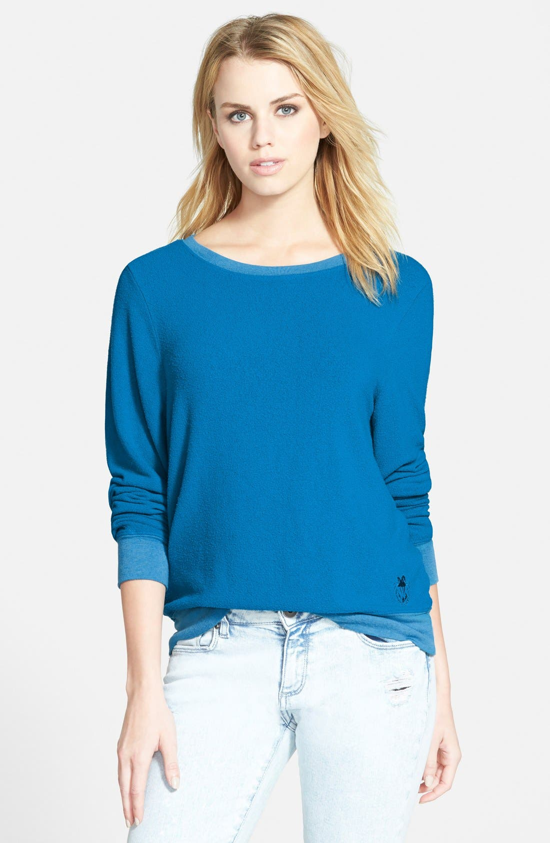'Baggy Beach Jumper' Pullover,                             Main thumbnail 34, color,