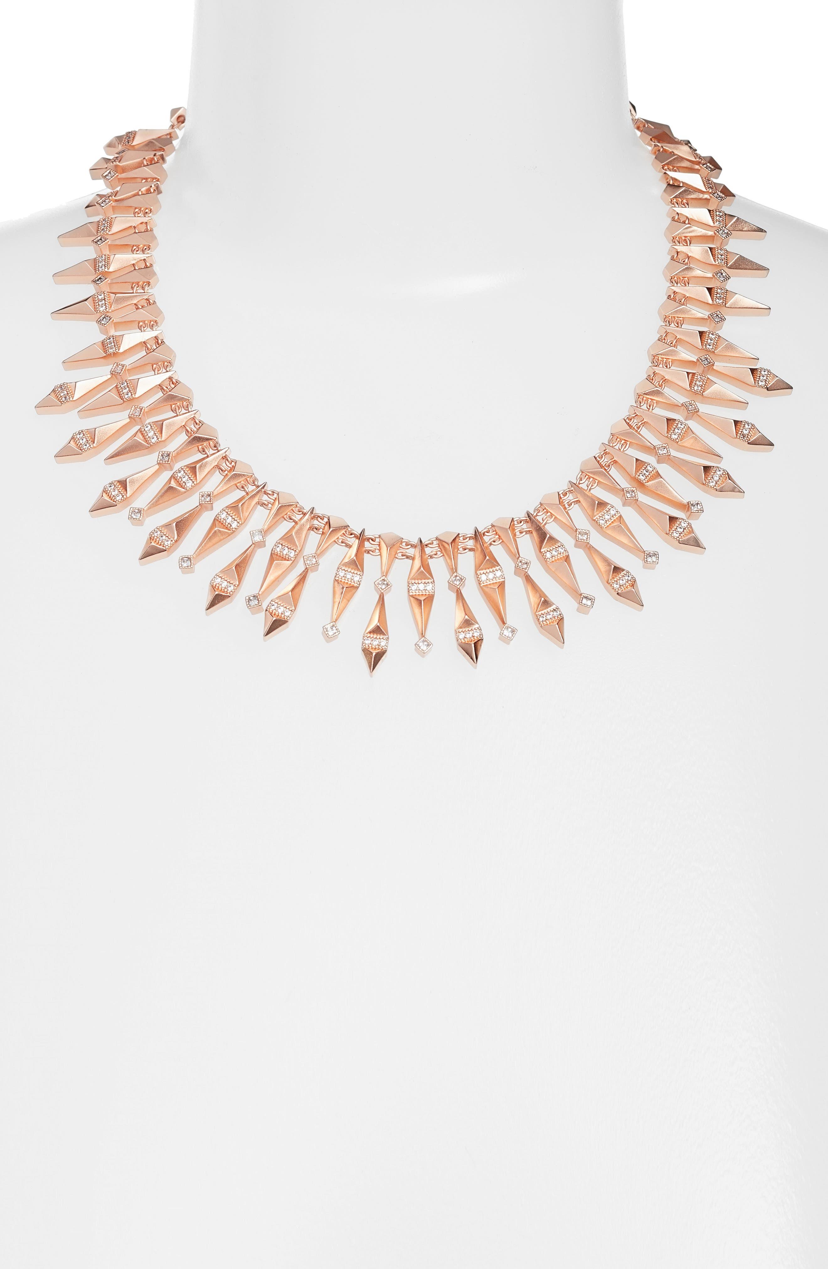 Cici Collar Necklace,                             Alternate thumbnail 5, color,