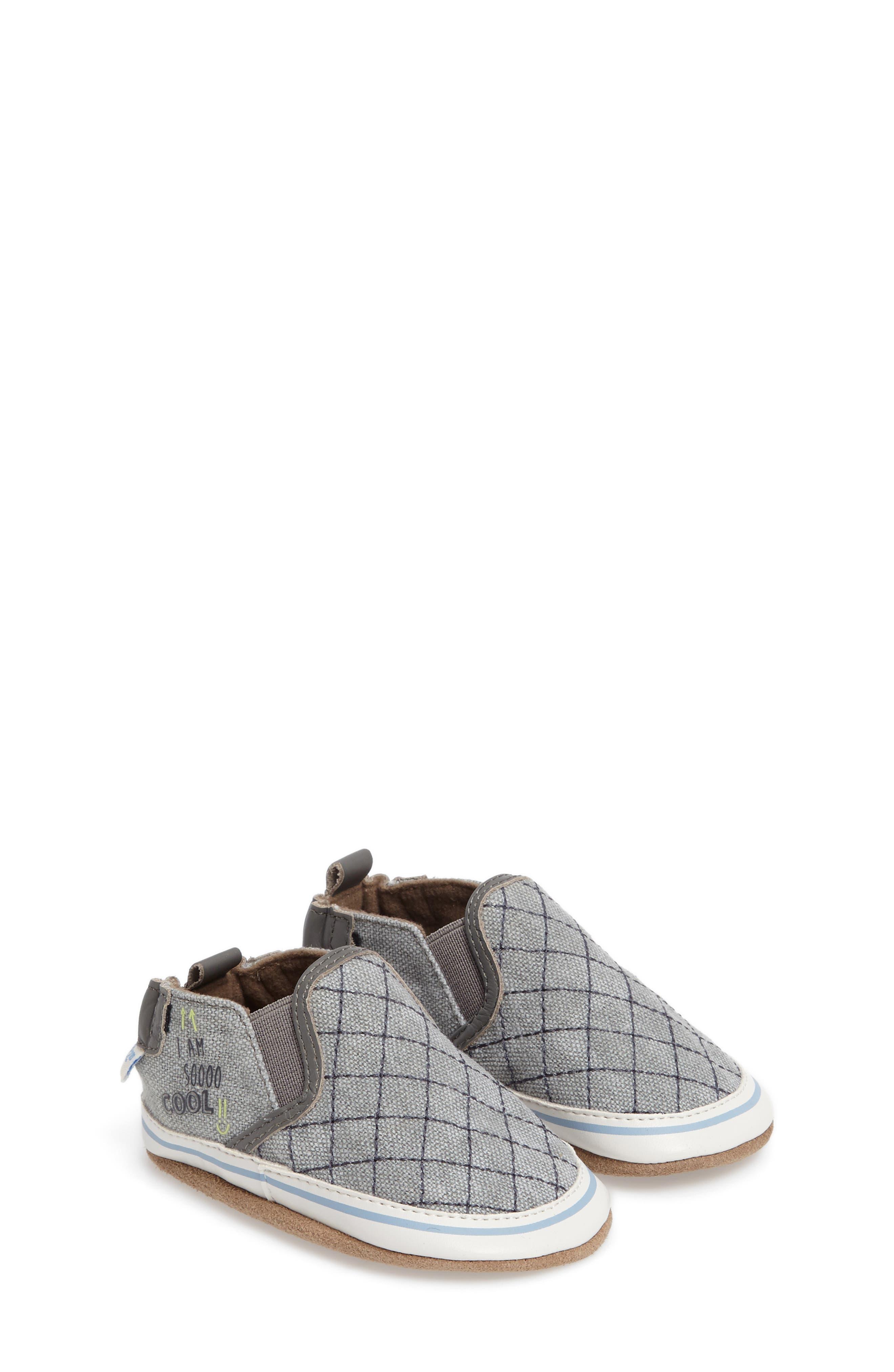 Liam - Cool Dude Crib Shoe,                         Main,                         color, 020