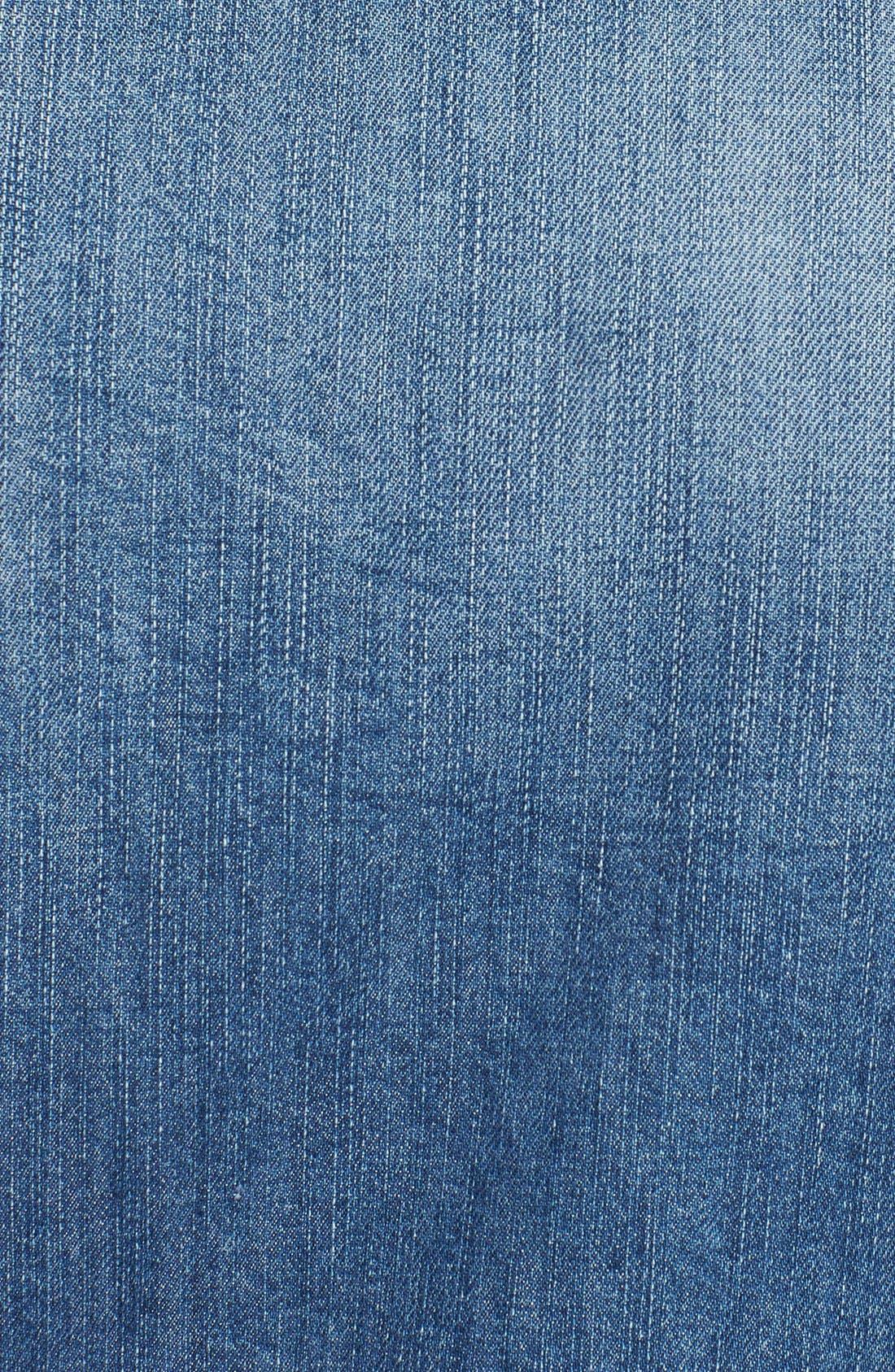 'Jinka' Denim Jacket,                             Alternate thumbnail 2, color,                             400