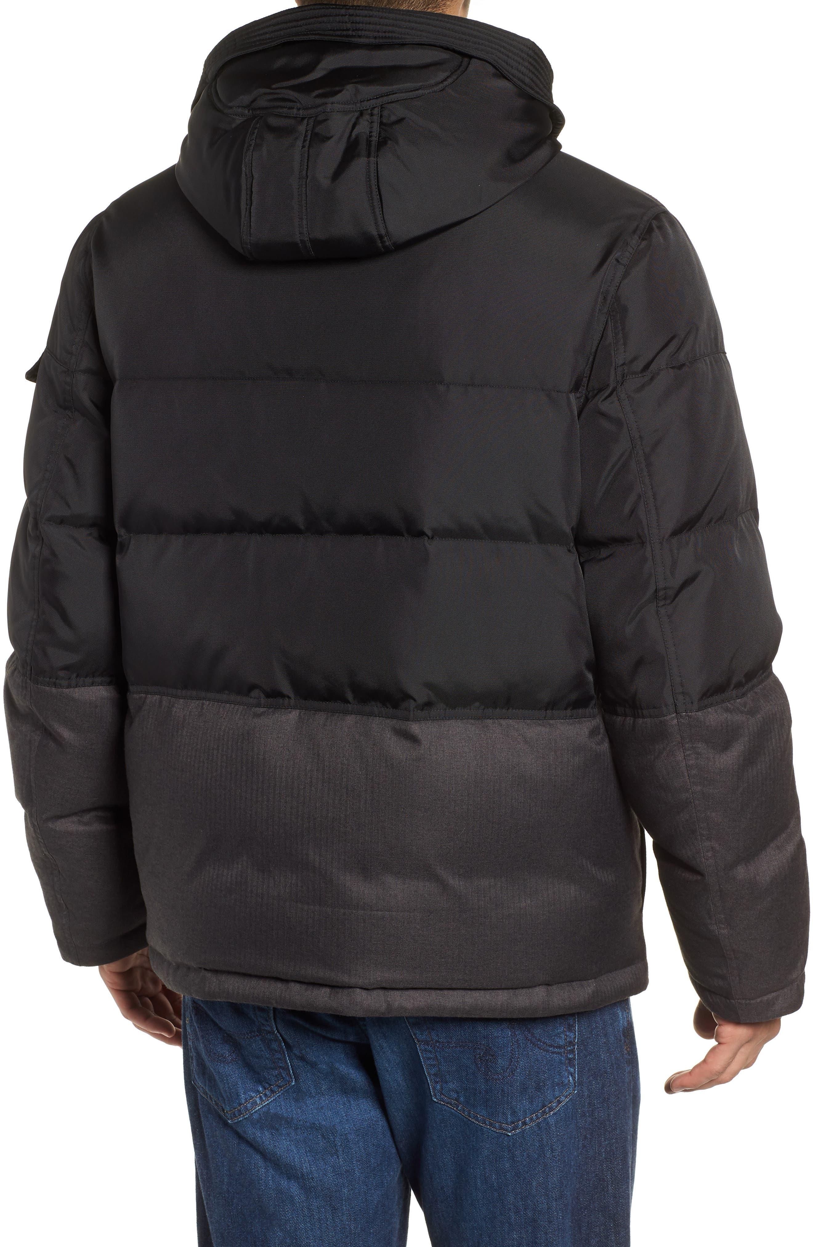 MARC NEW YORK,                             Stanton Oxford Puffer Jacket,                             Alternate thumbnail 2, color,                             BLACK