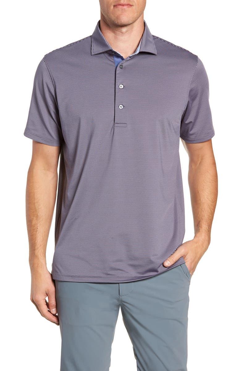 Greyson Shirts SARANAC STRIPE POLO