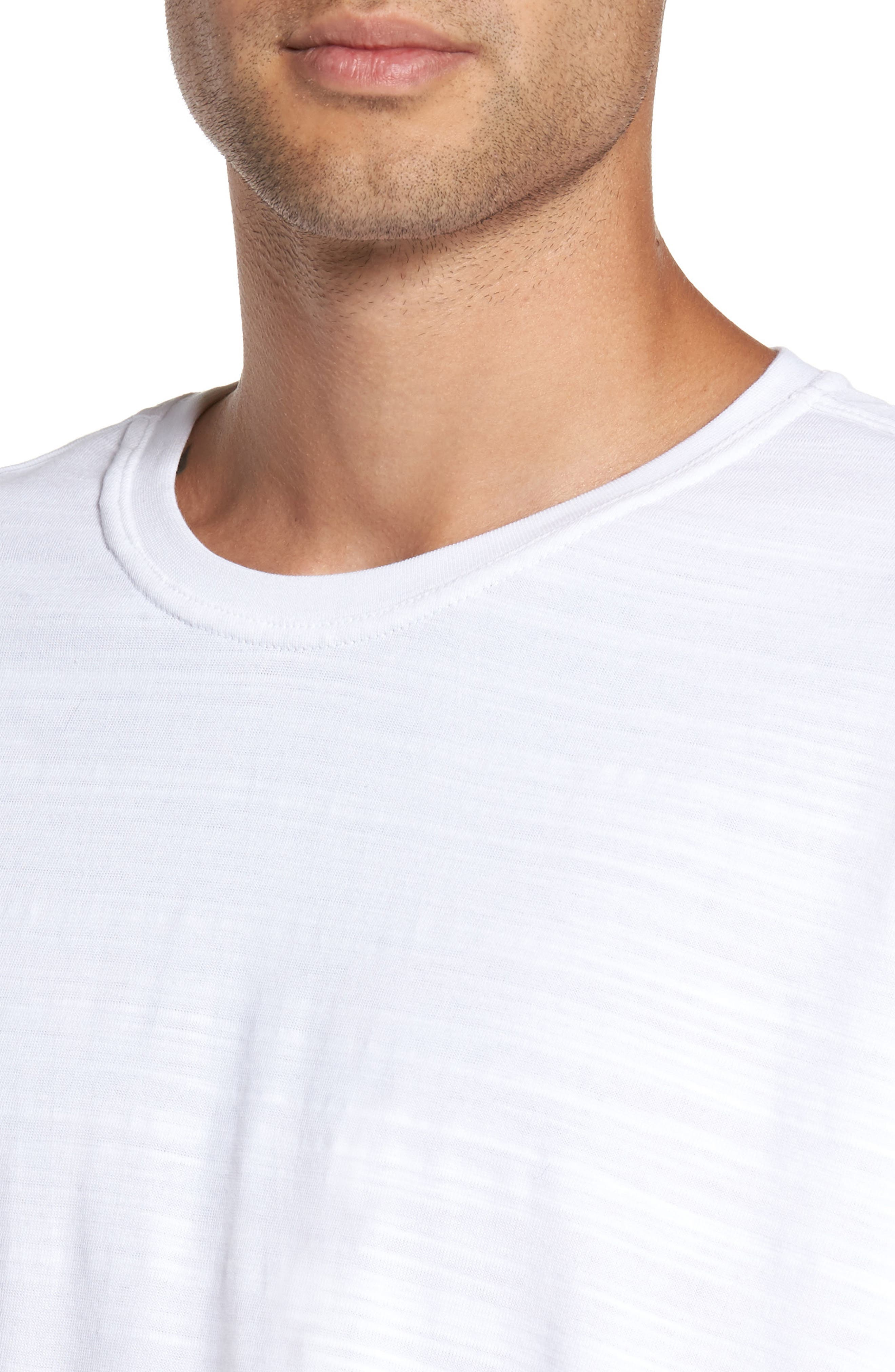 Relaxed Fit Crewneck T-Shirt,                             Alternate thumbnail 8, color,