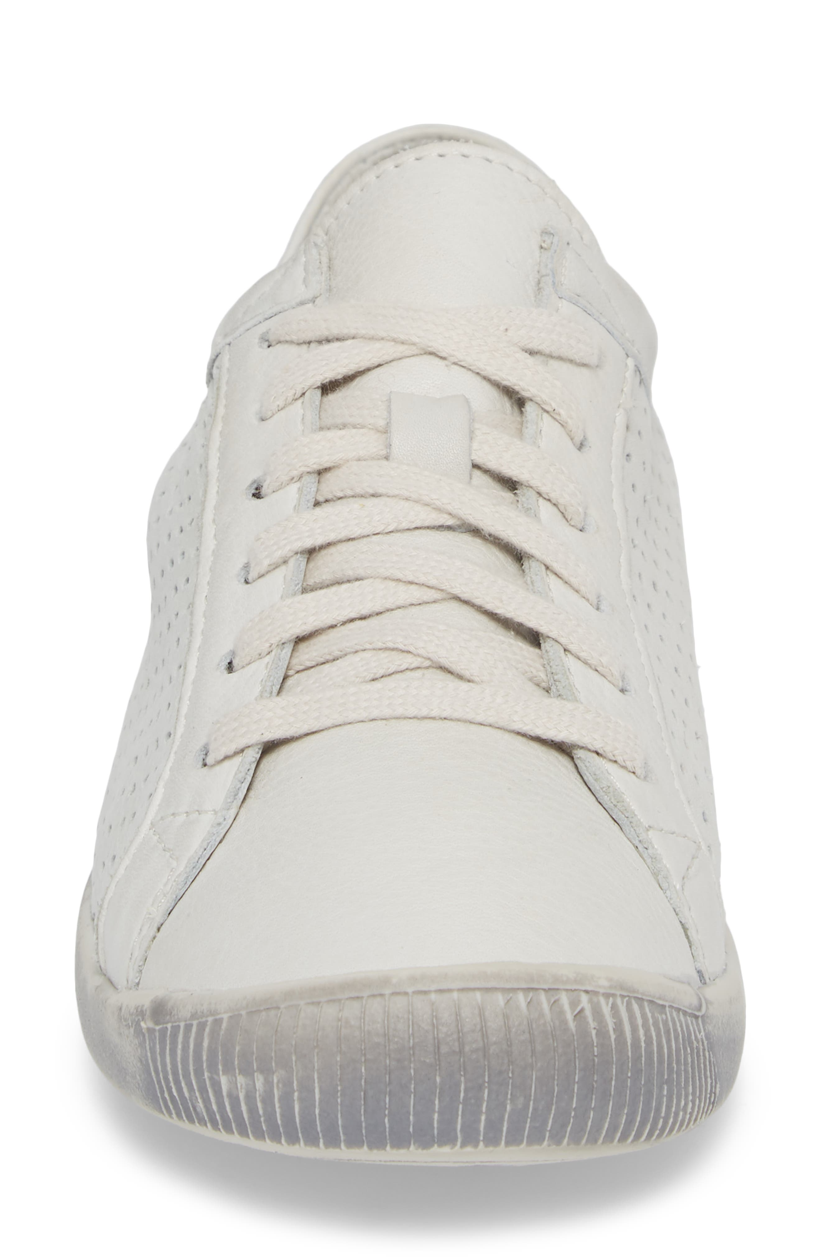 Ica Sneaker,                             Alternate thumbnail 4, color,                             WHITE LEATHER