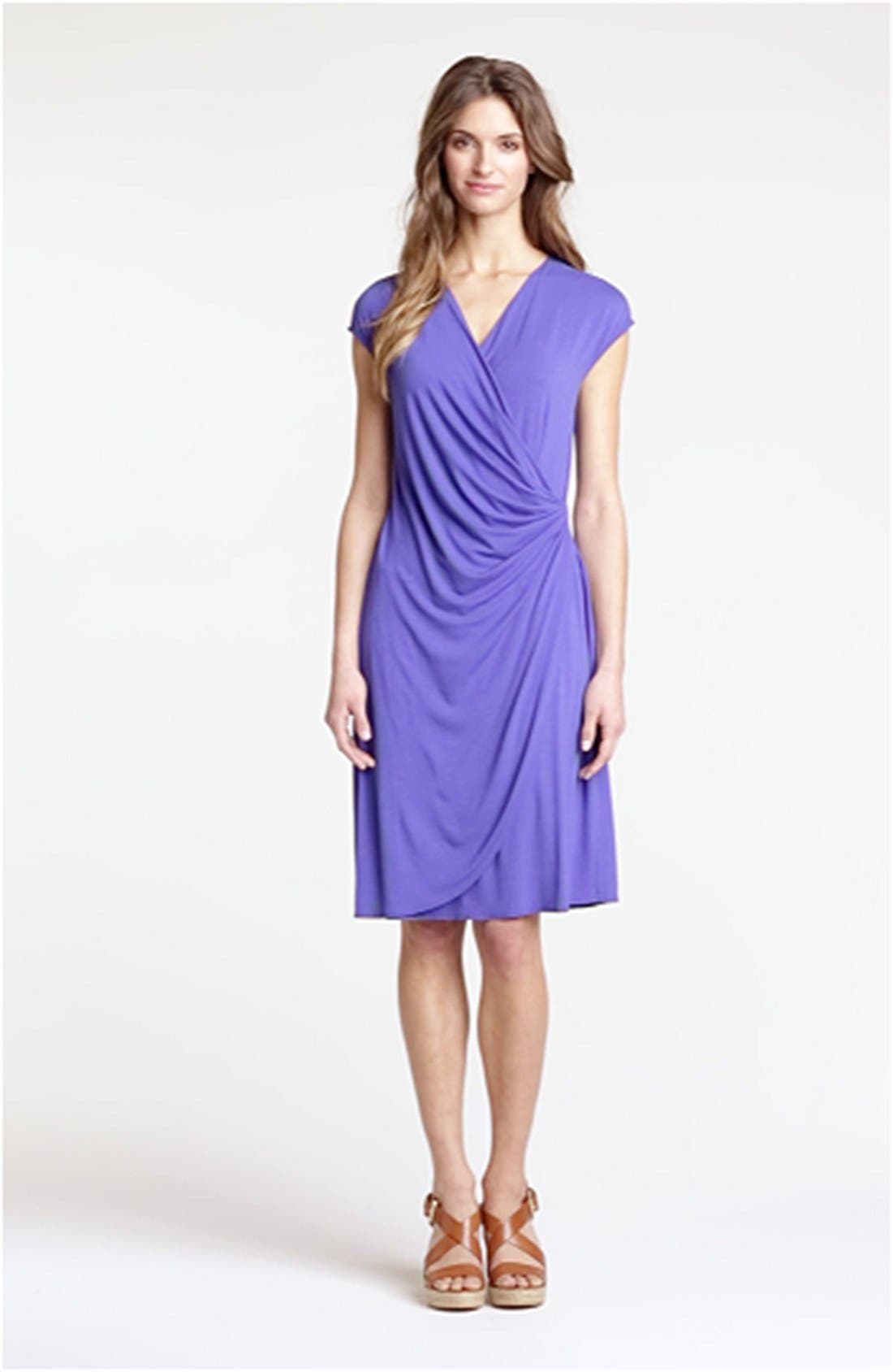 'Tambour' Side Gathered Dress,                             Alternate thumbnail 13, color,