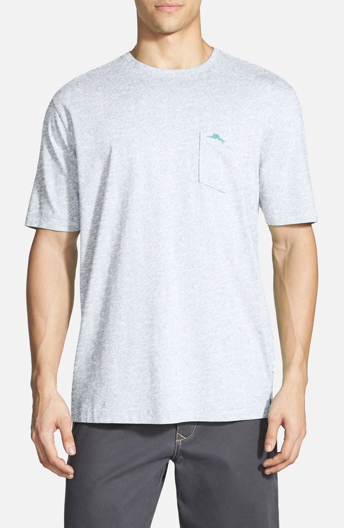New Bali Sky Pima Cotton Pocket T-Shirt,                             Main thumbnail 8, color,