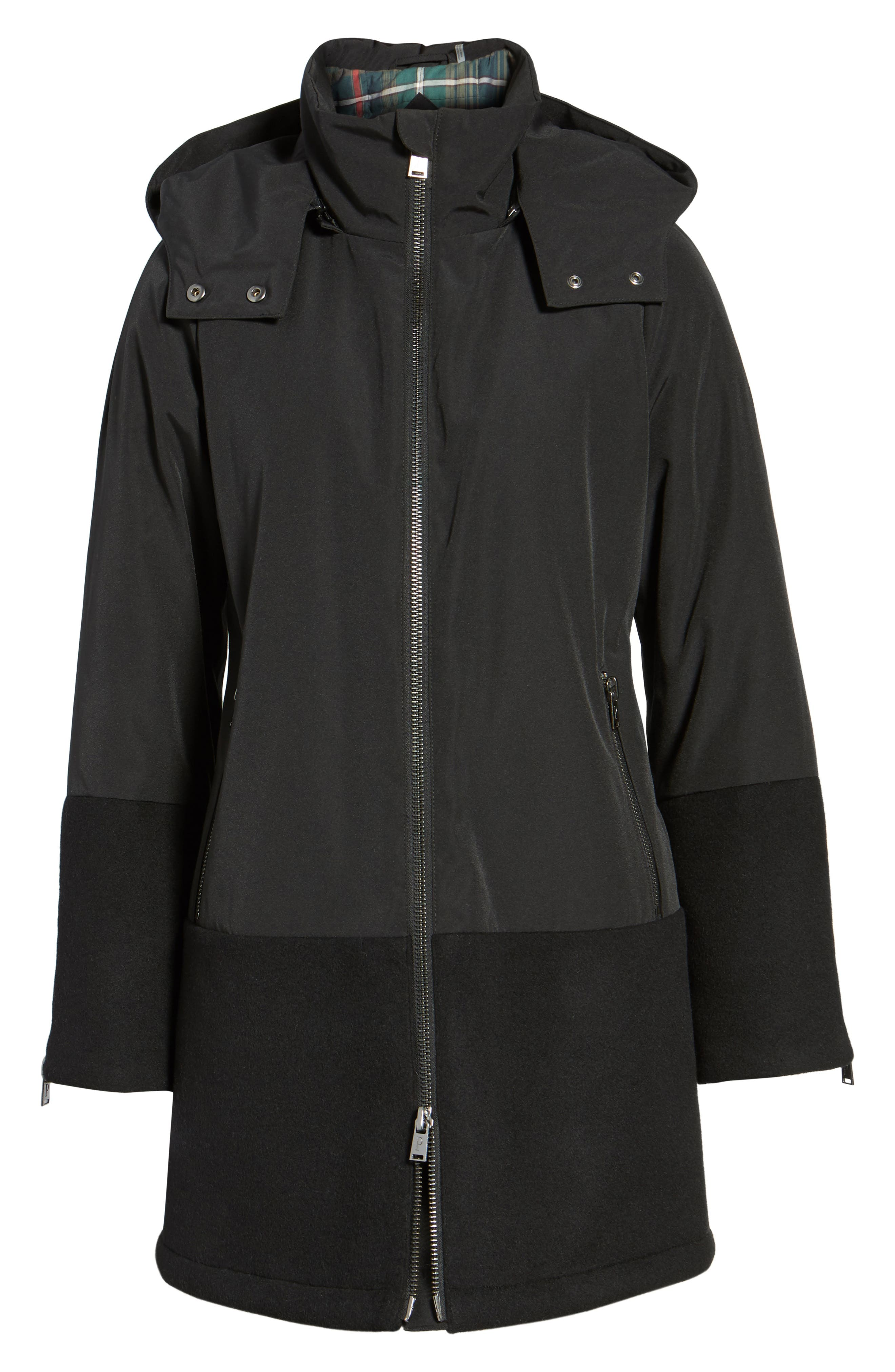 Bellevue Down & Feather Fill Parka,                             Alternate thumbnail 5, color,                             001