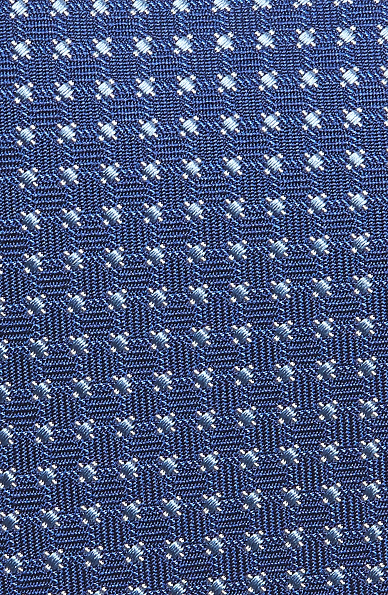 Neat Silk Tie,                             Alternate thumbnail 2, color,                             BLUE