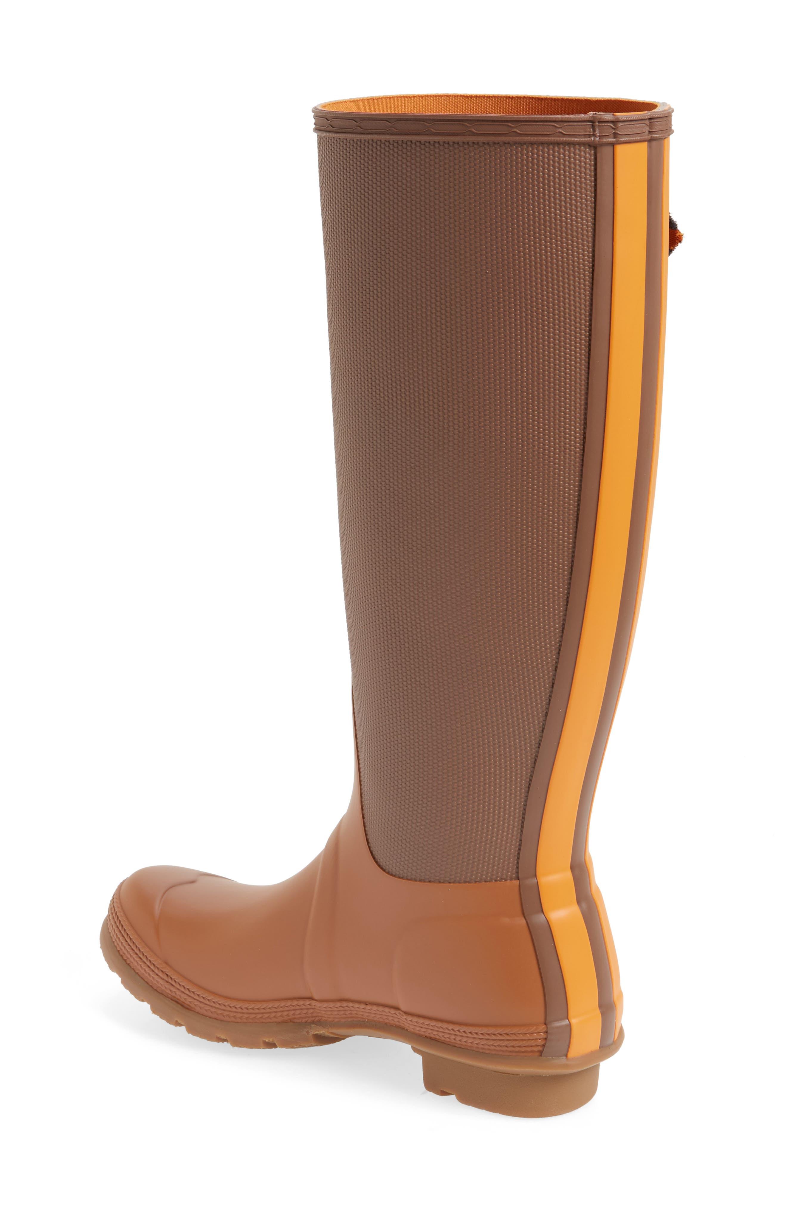 Original Sissinghurst Tall Rain Boot,                             Alternate thumbnail 3, color,