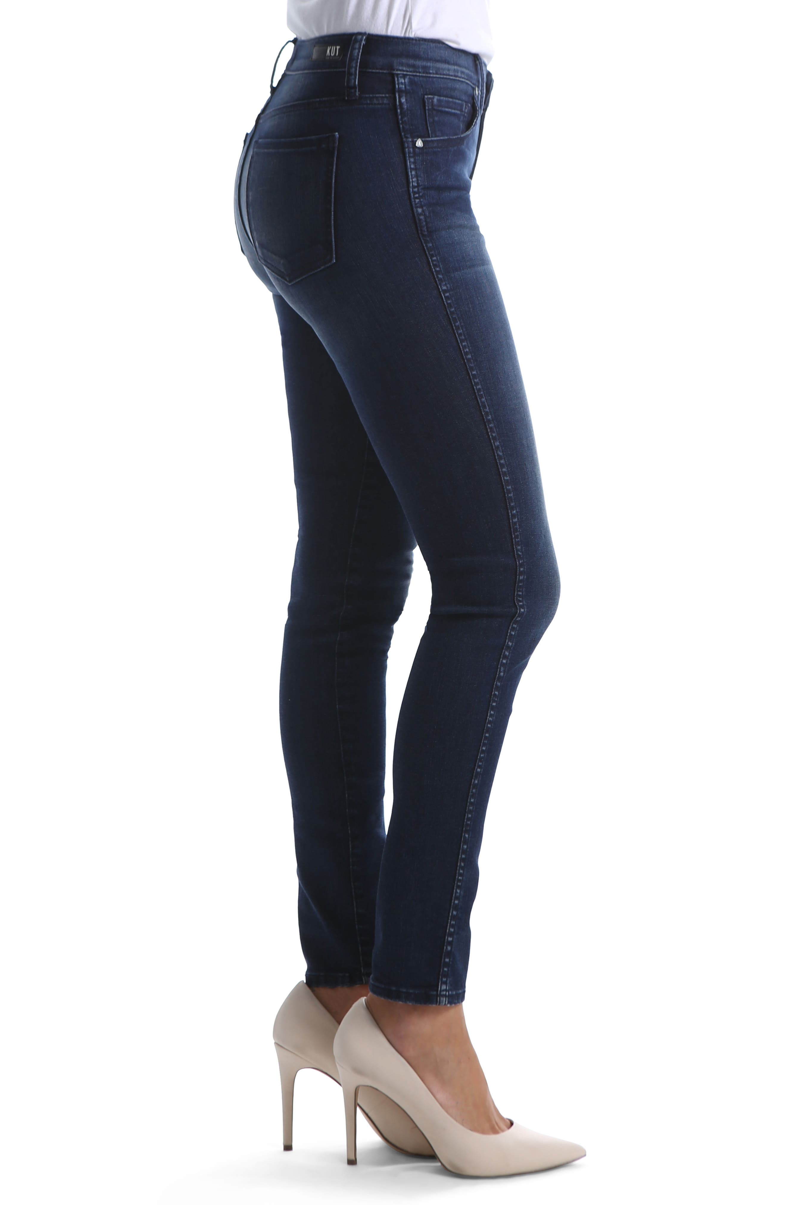 Diana Fab Ab Fit Solution Skinny Jeans,                             Alternate thumbnail 3, color,                             HOLD