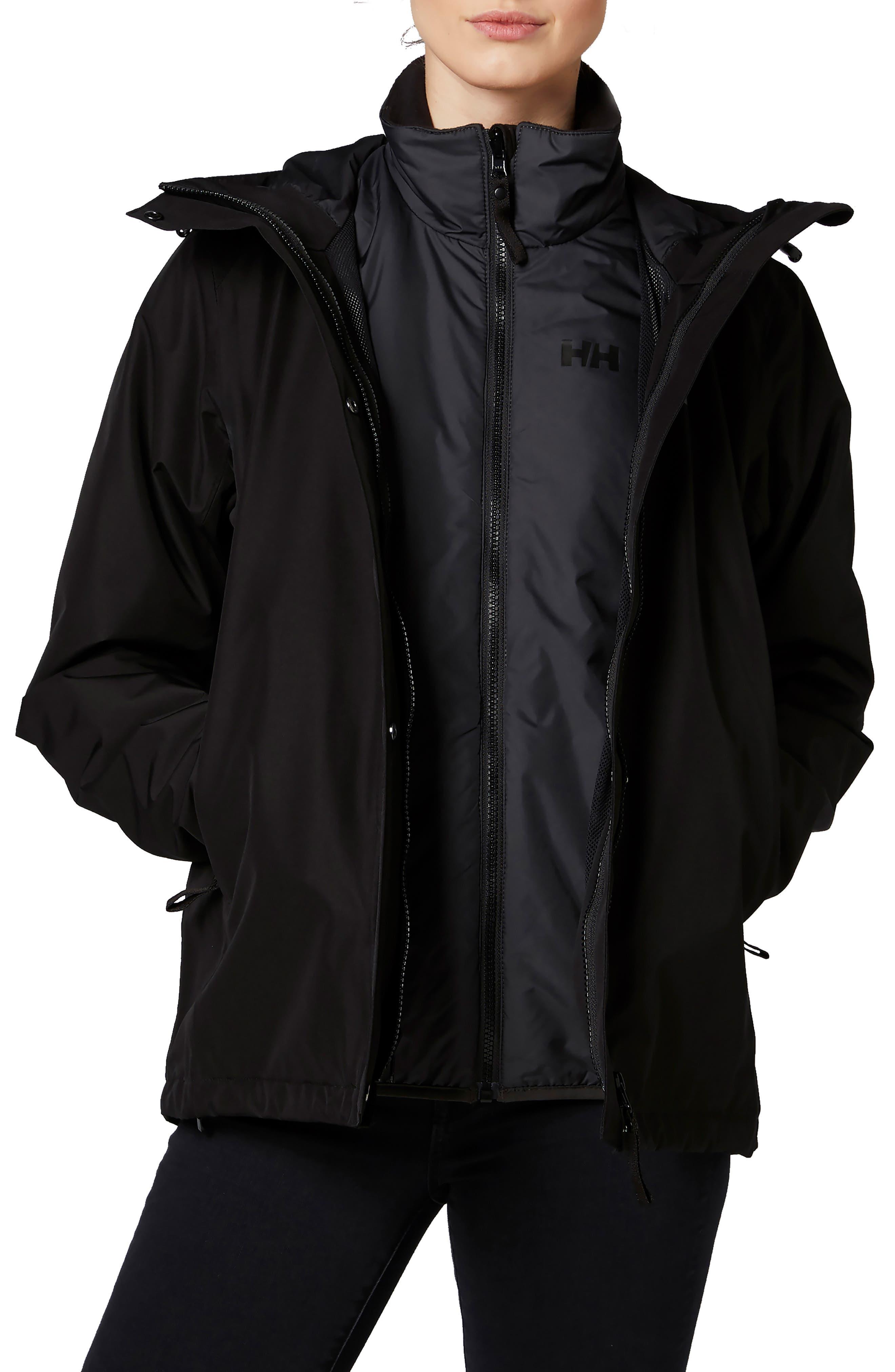 HELLY HANSEN Squamish 3-In1 Jacket in Black