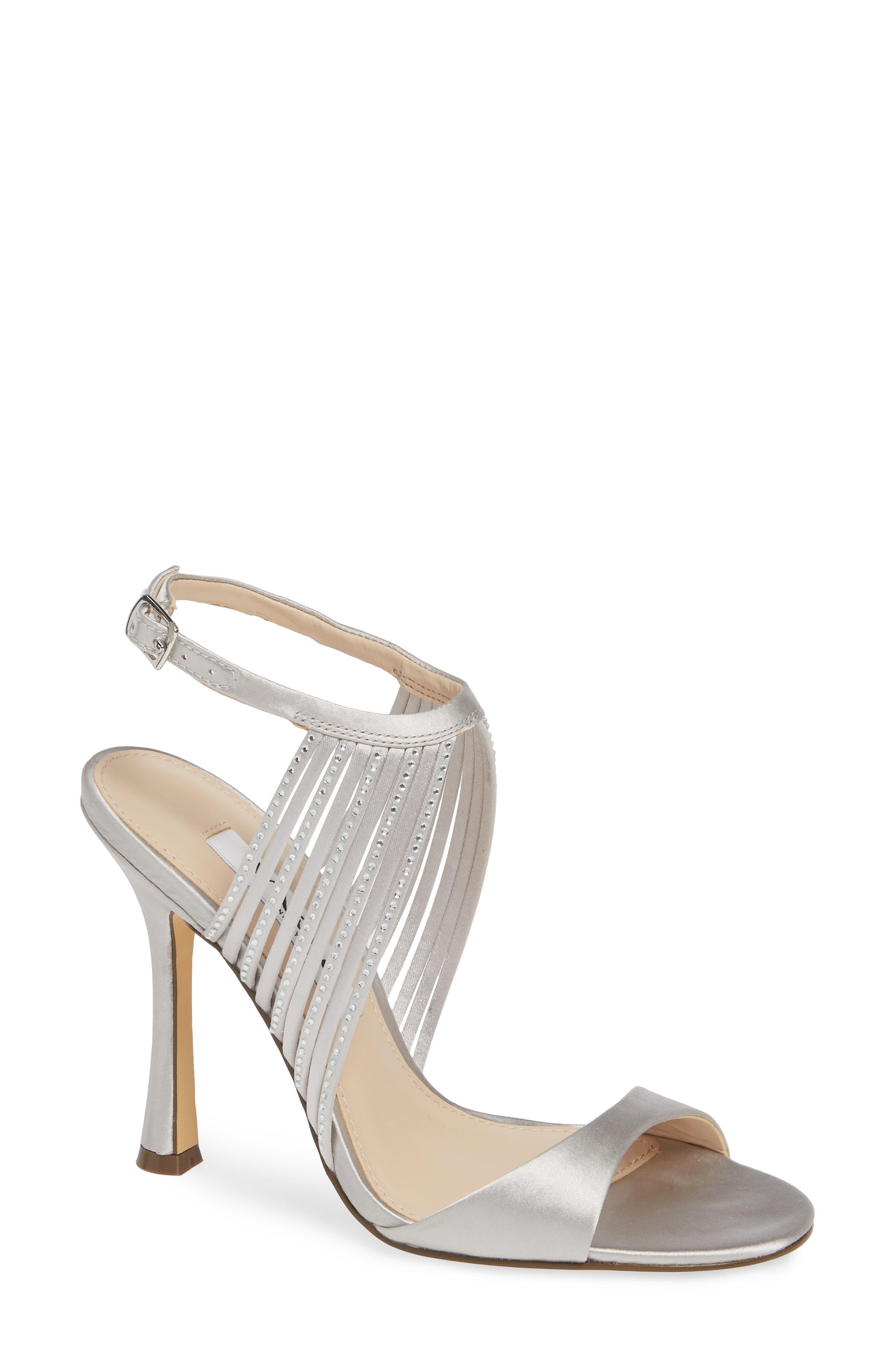 28adfa936bd7 Nina Damaris Crystal Embellished Sandal