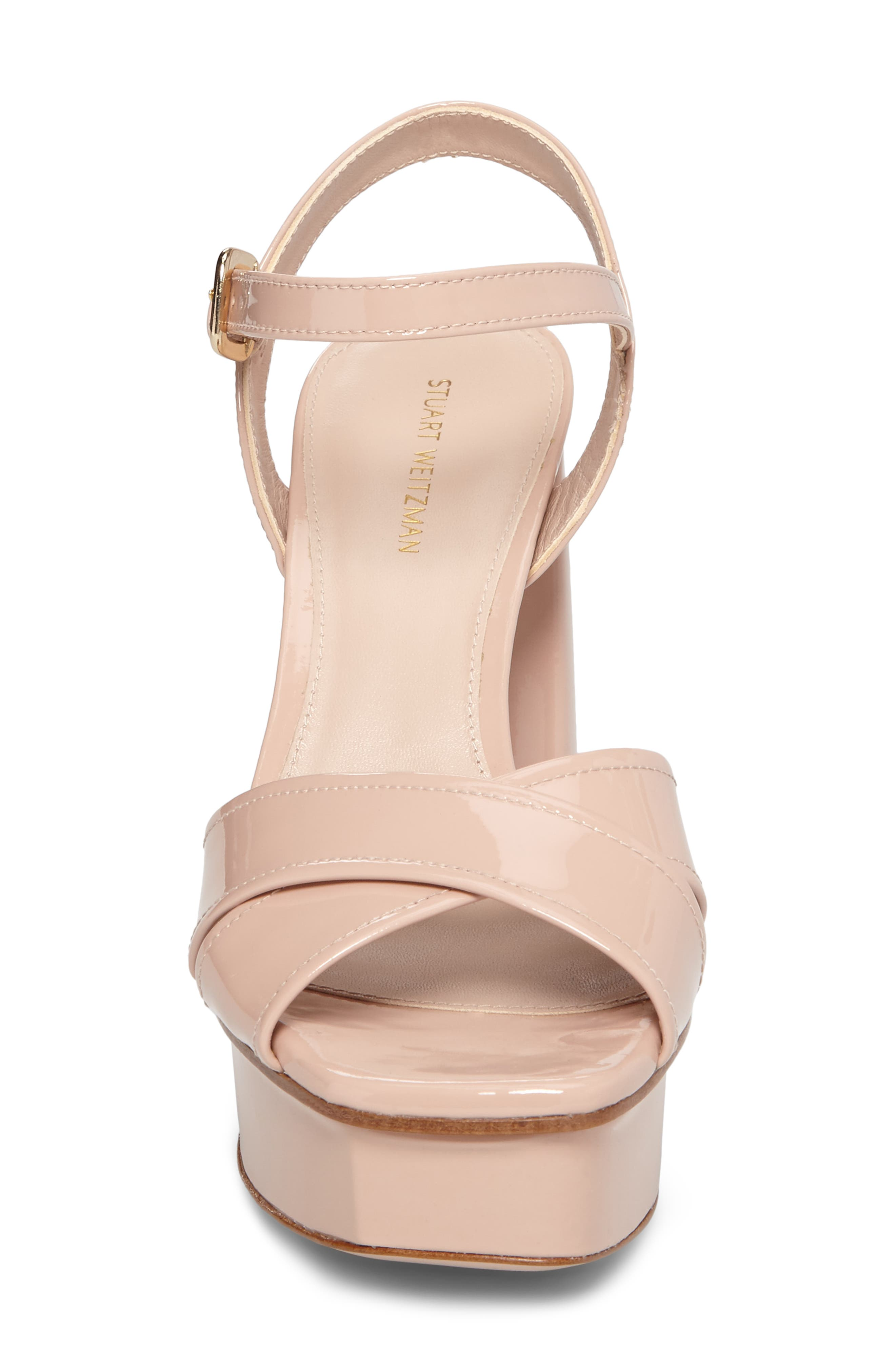 Exposed Platform Sandal,                             Alternate thumbnail 18, color,