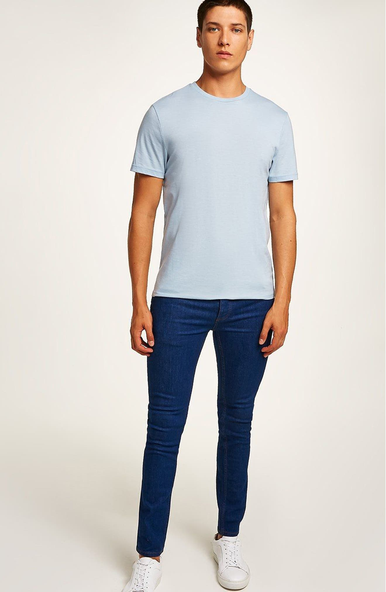 Stretch Skinny Fit Jeans,                             Alternate thumbnail 5, color,                             400