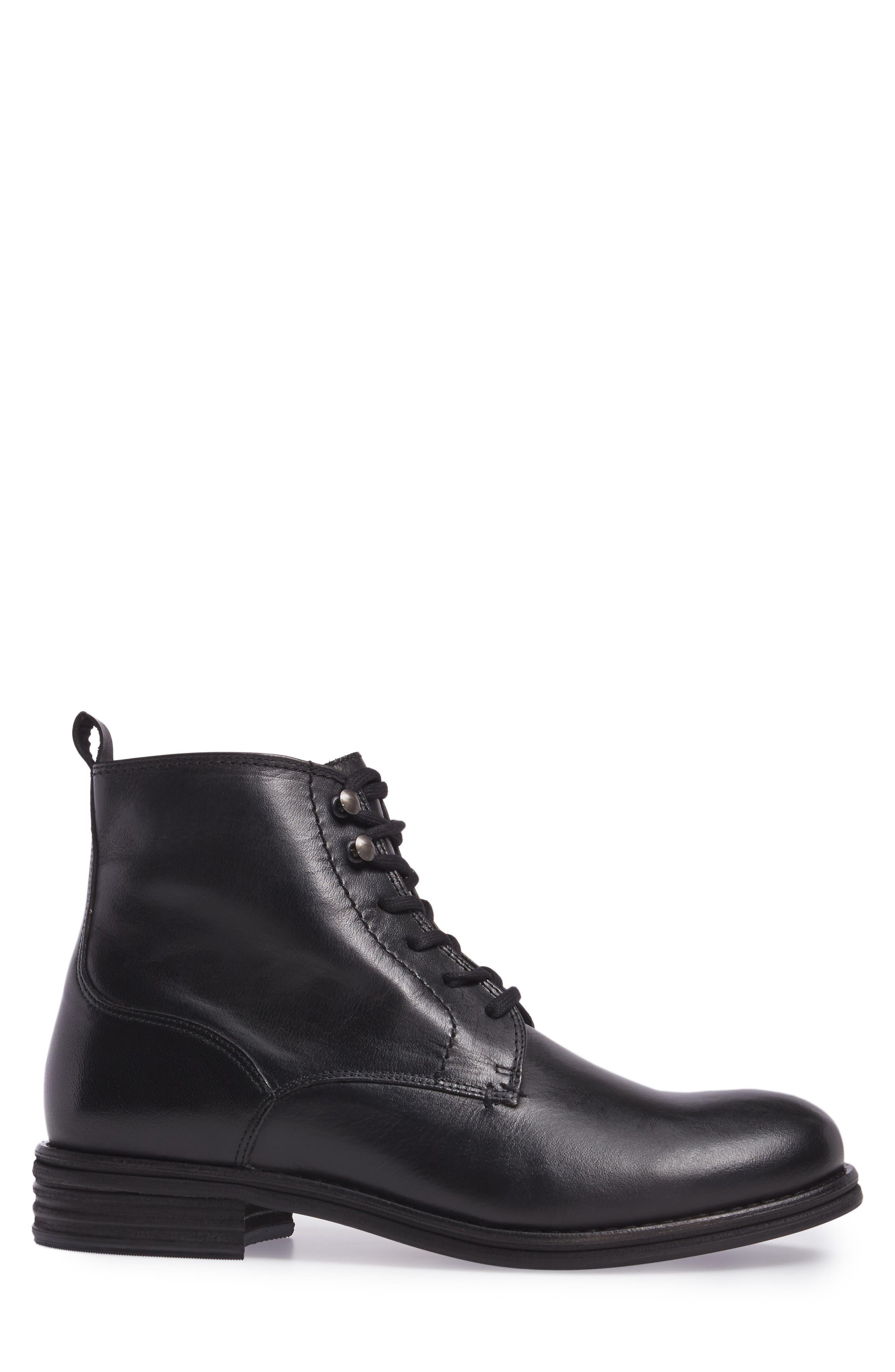 Cordie Plain Toe Boot,                             Alternate thumbnail 3, color,                             001