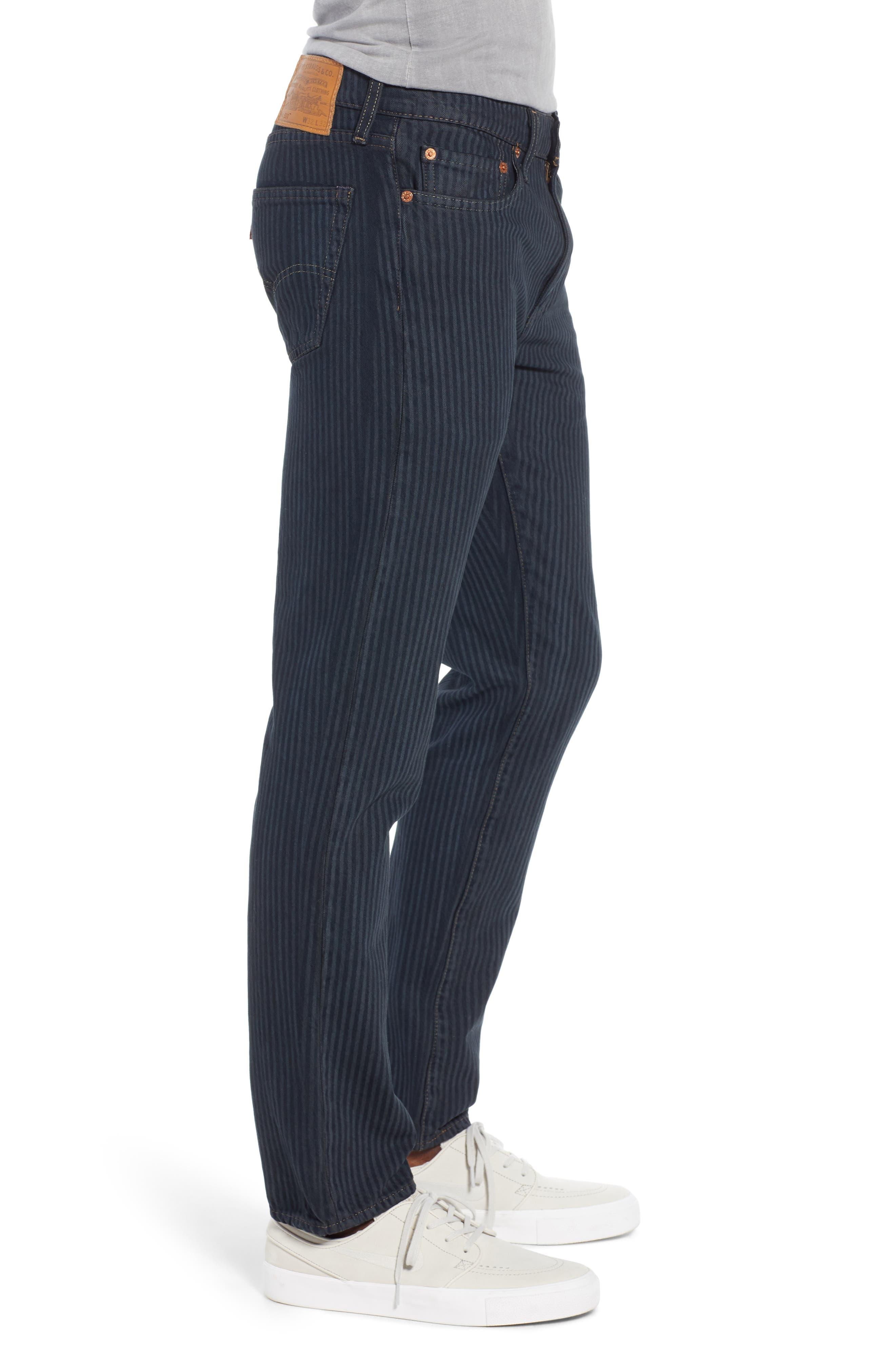511<sup>™</sup> Stripe Slim Fit Jeans,                             Alternate thumbnail 3, color,                             PAUPER
