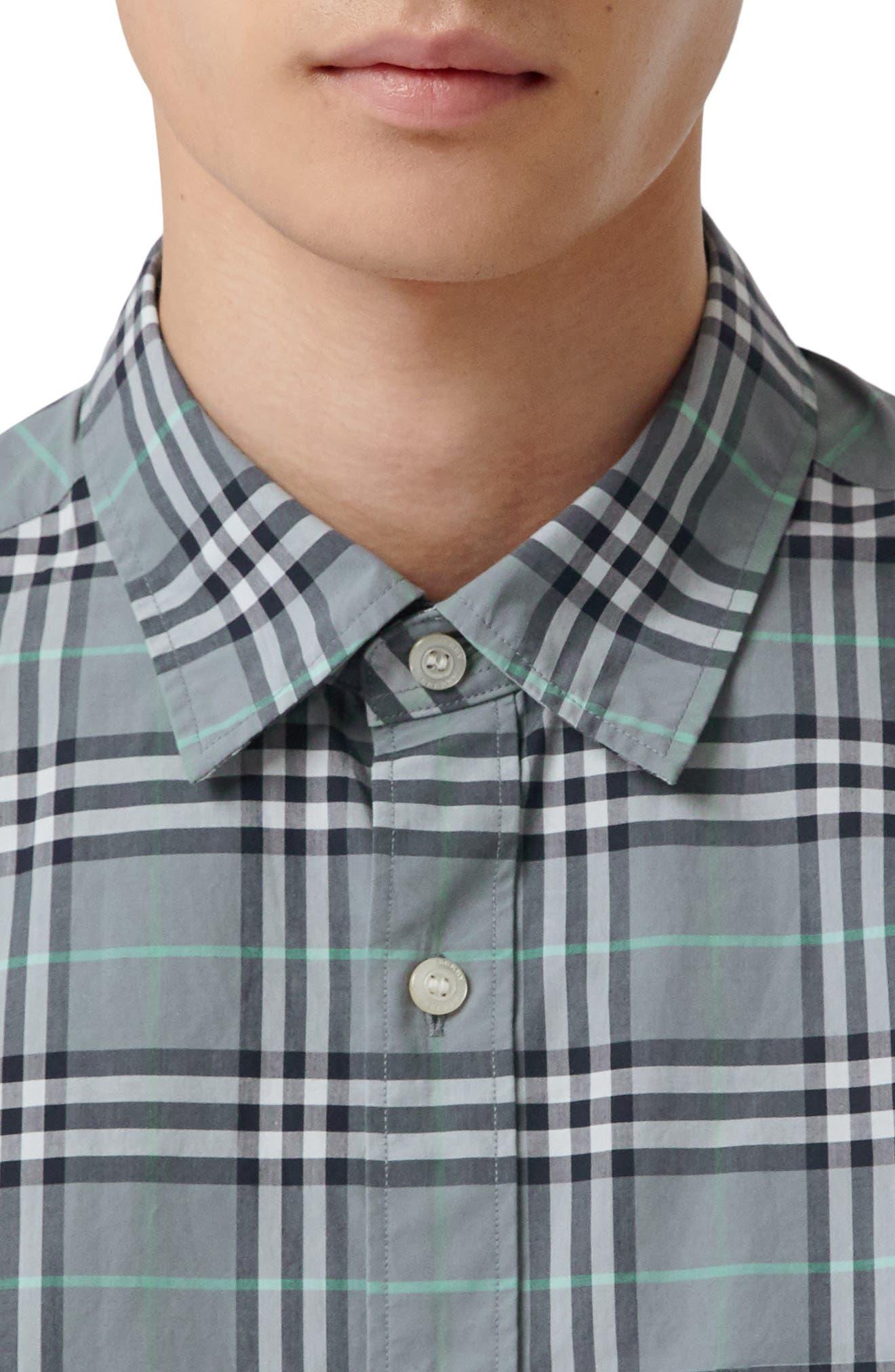 Alexander Check Sport Shirt,                             Alternate thumbnail 2, color,                             400