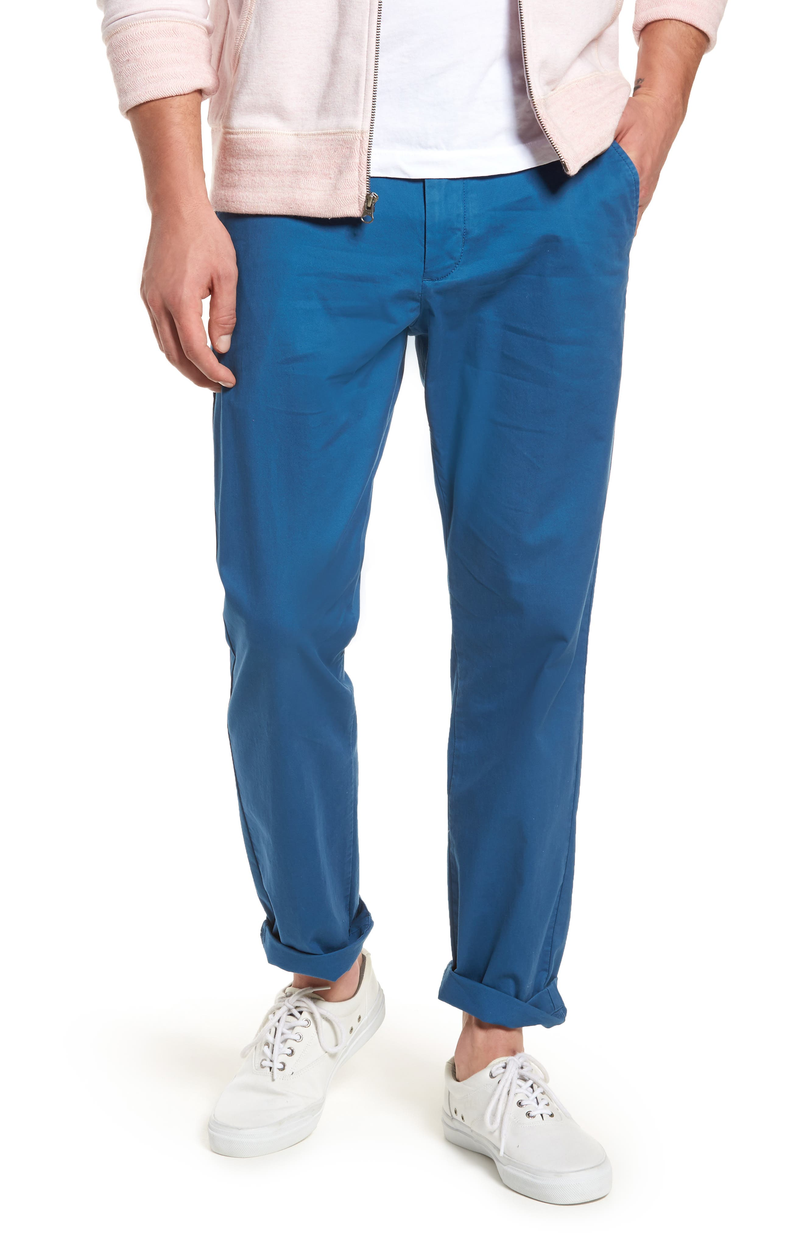 Fremont Relaxed Slim Fit Chinos,                             Main thumbnail 5, color,