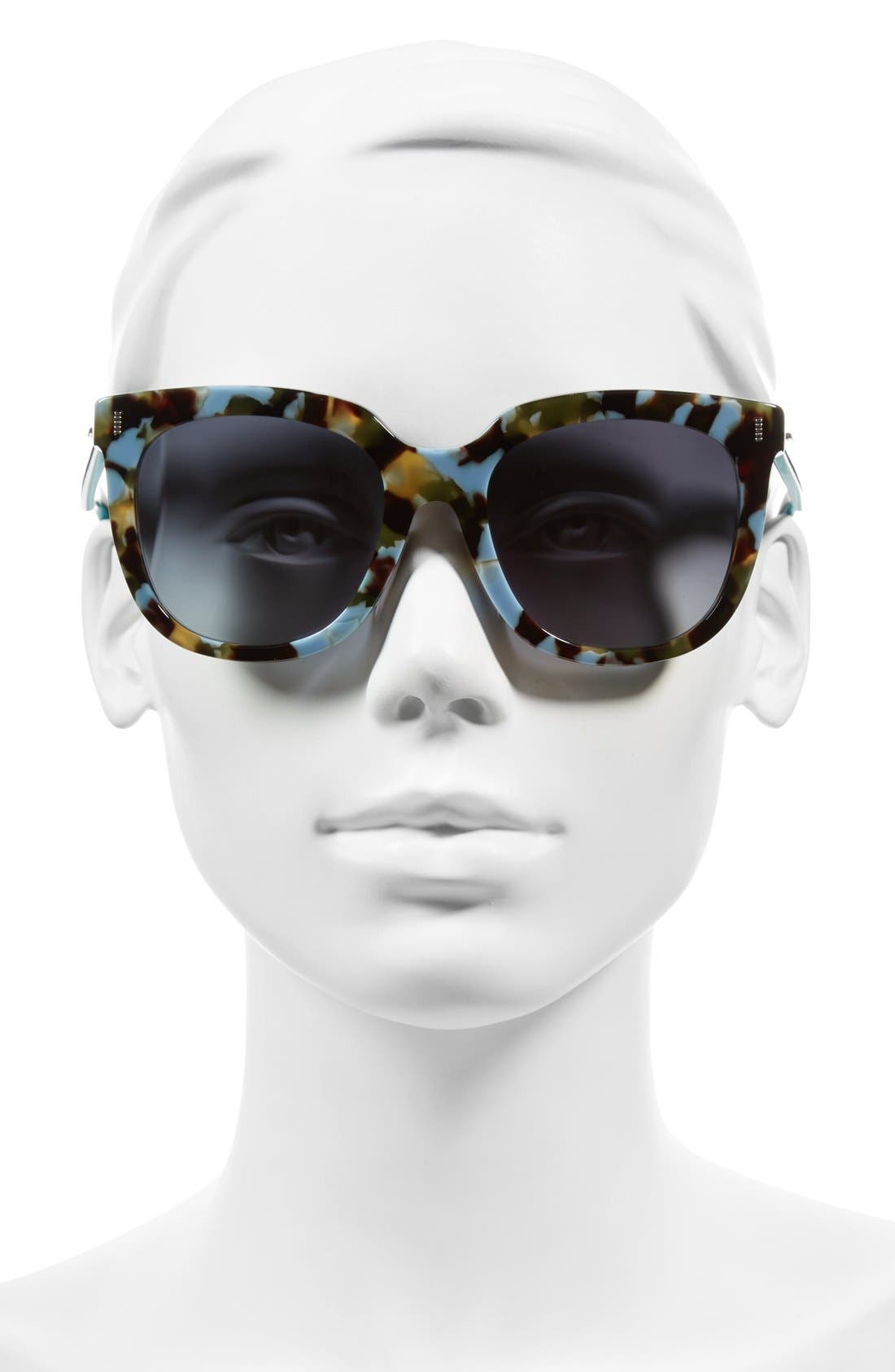 54mm Retro Sunglasses,                             Alternate thumbnail 2, color,