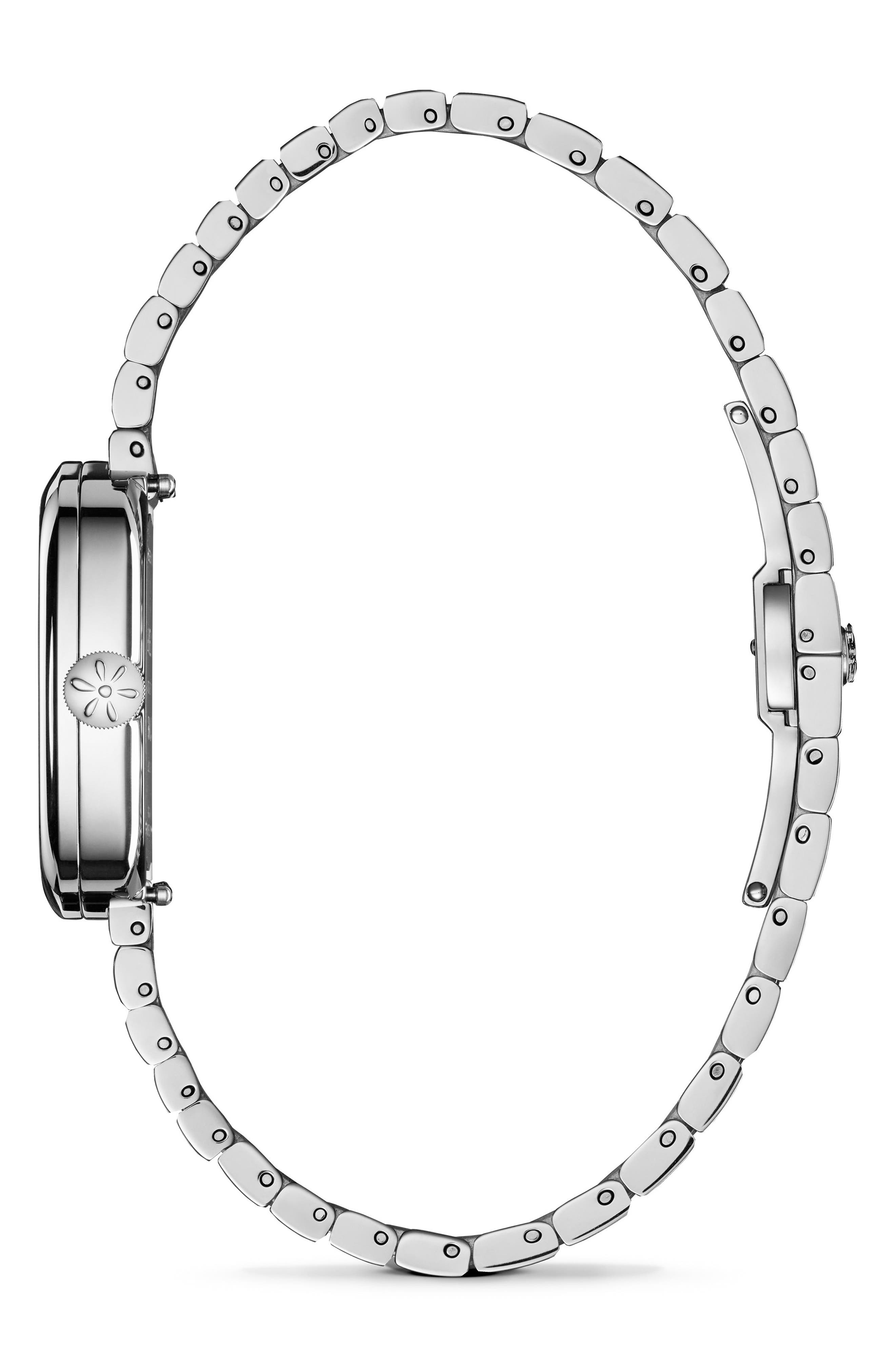 GOMELSKY,                             The Eppie Sneed Mini Bracelet Watch, 32mm,                             Alternate thumbnail 3, color,                             040