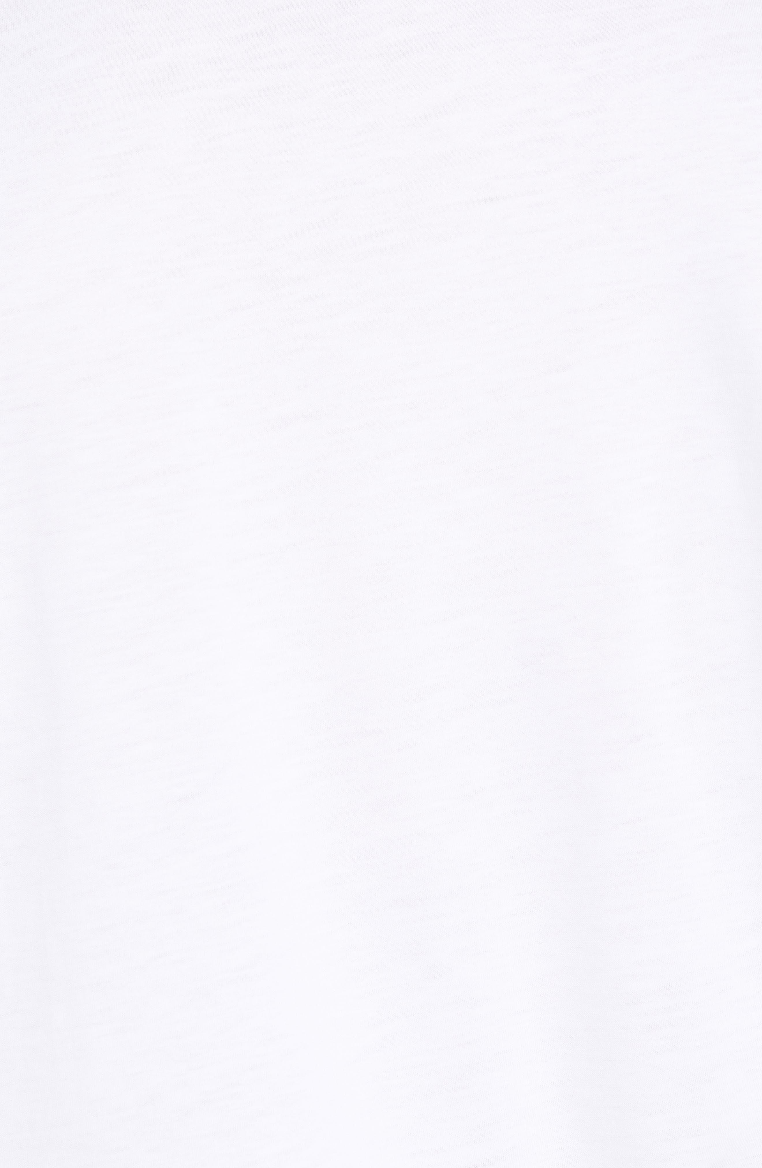 That Box Crewneck T-Shirt,                             Alternate thumbnail 5, color,                             WHITE