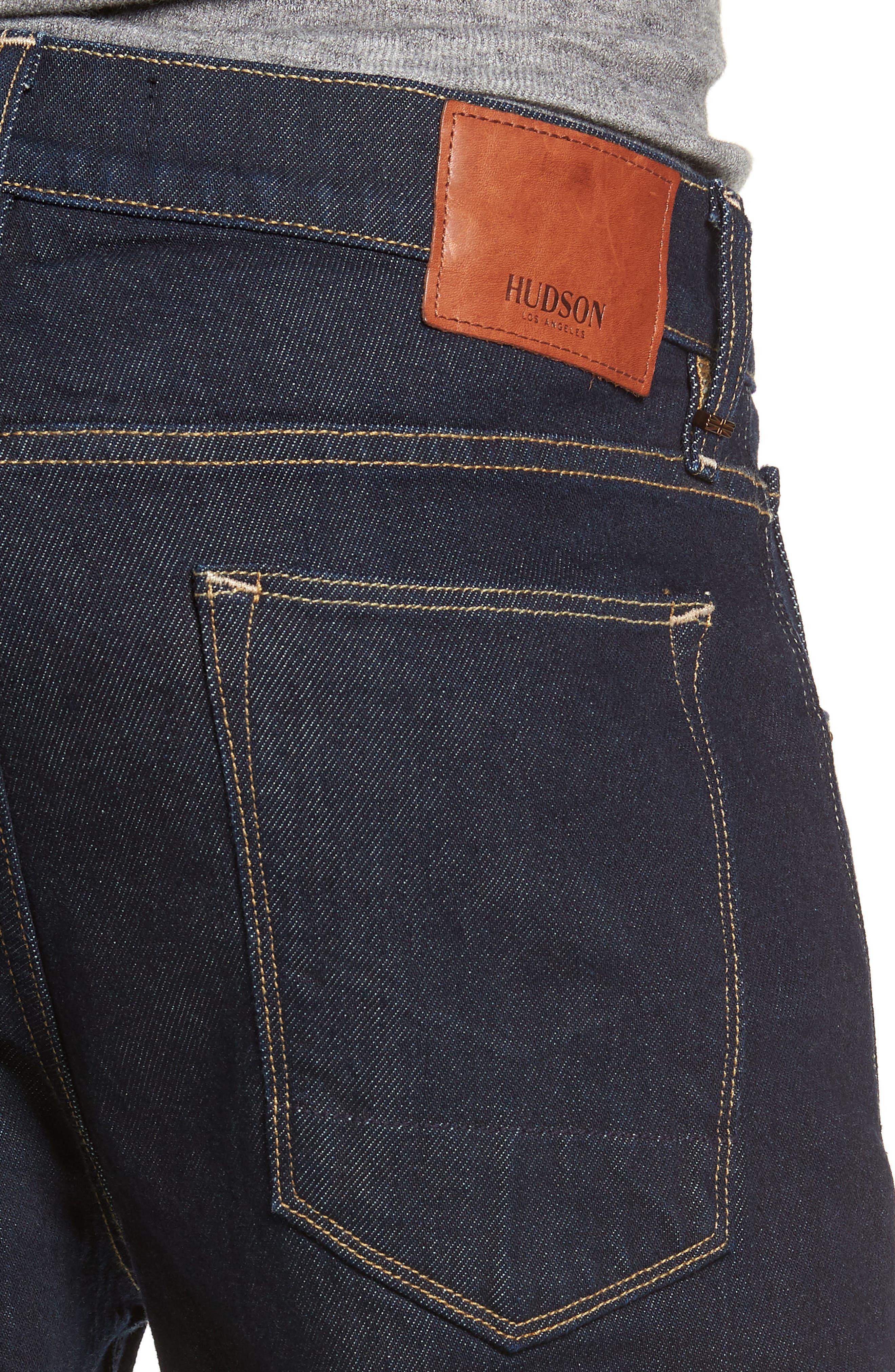 Blake Slim Fit Jeans,                             Alternate thumbnail 4, color,                             DUARTE