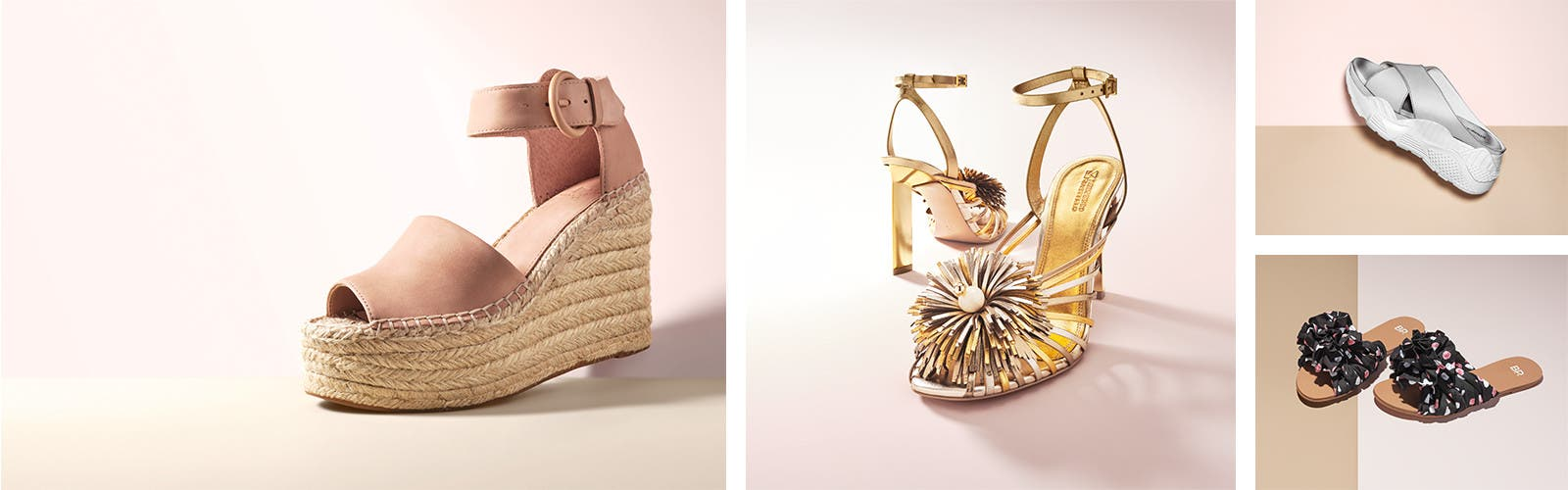 Sun. Sandals. So Ready. Spring-welcoming styles in every heel height.