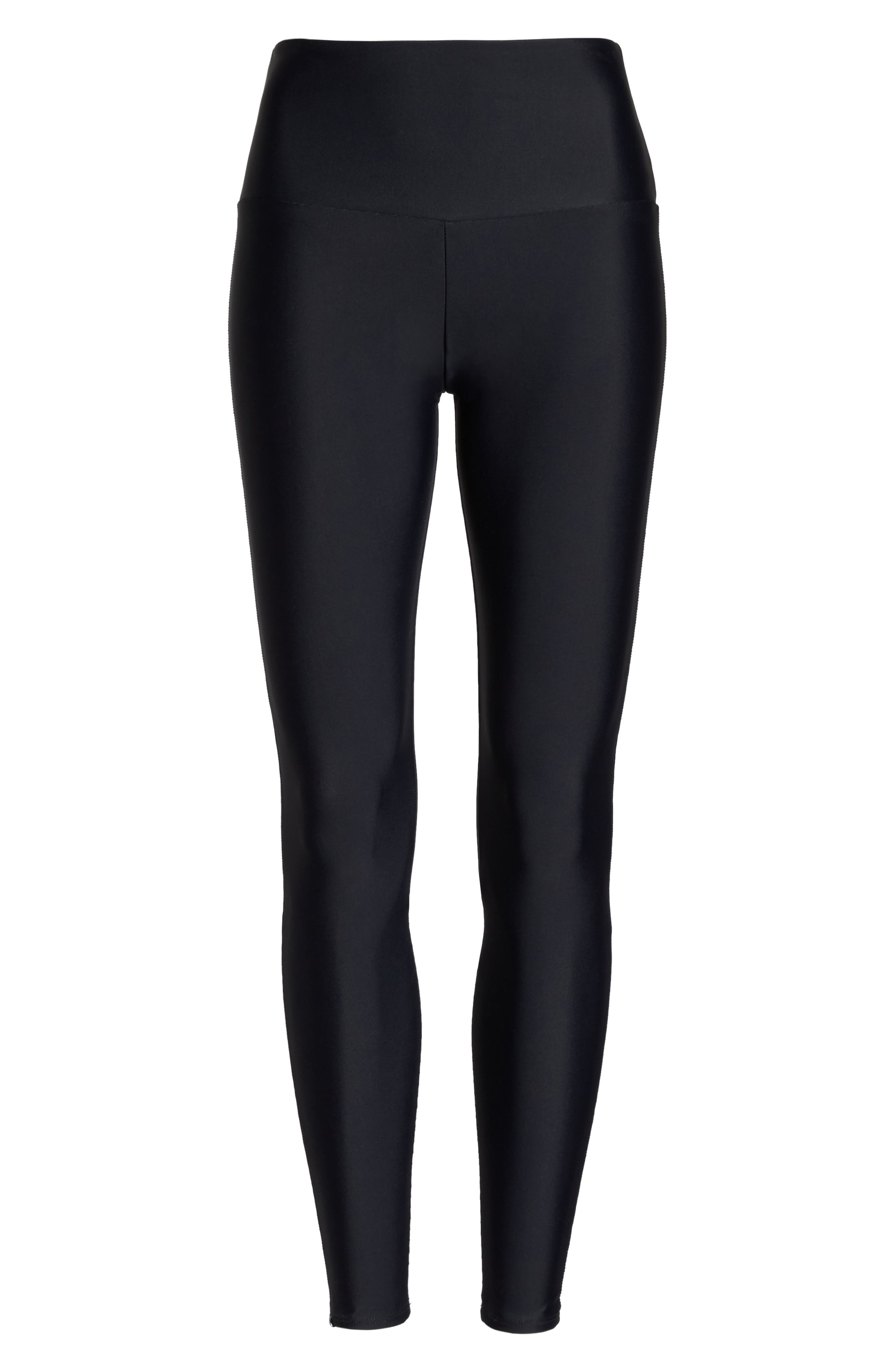 High Rise Yoga Pants,                             Alternate thumbnail 7, color,                             001