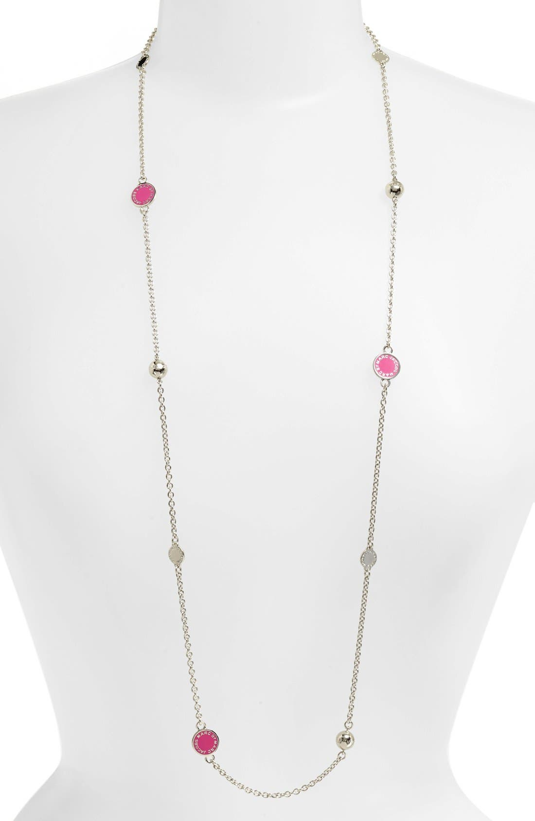 'Classic Marc' Long Necklace,                             Main thumbnail 12, color,