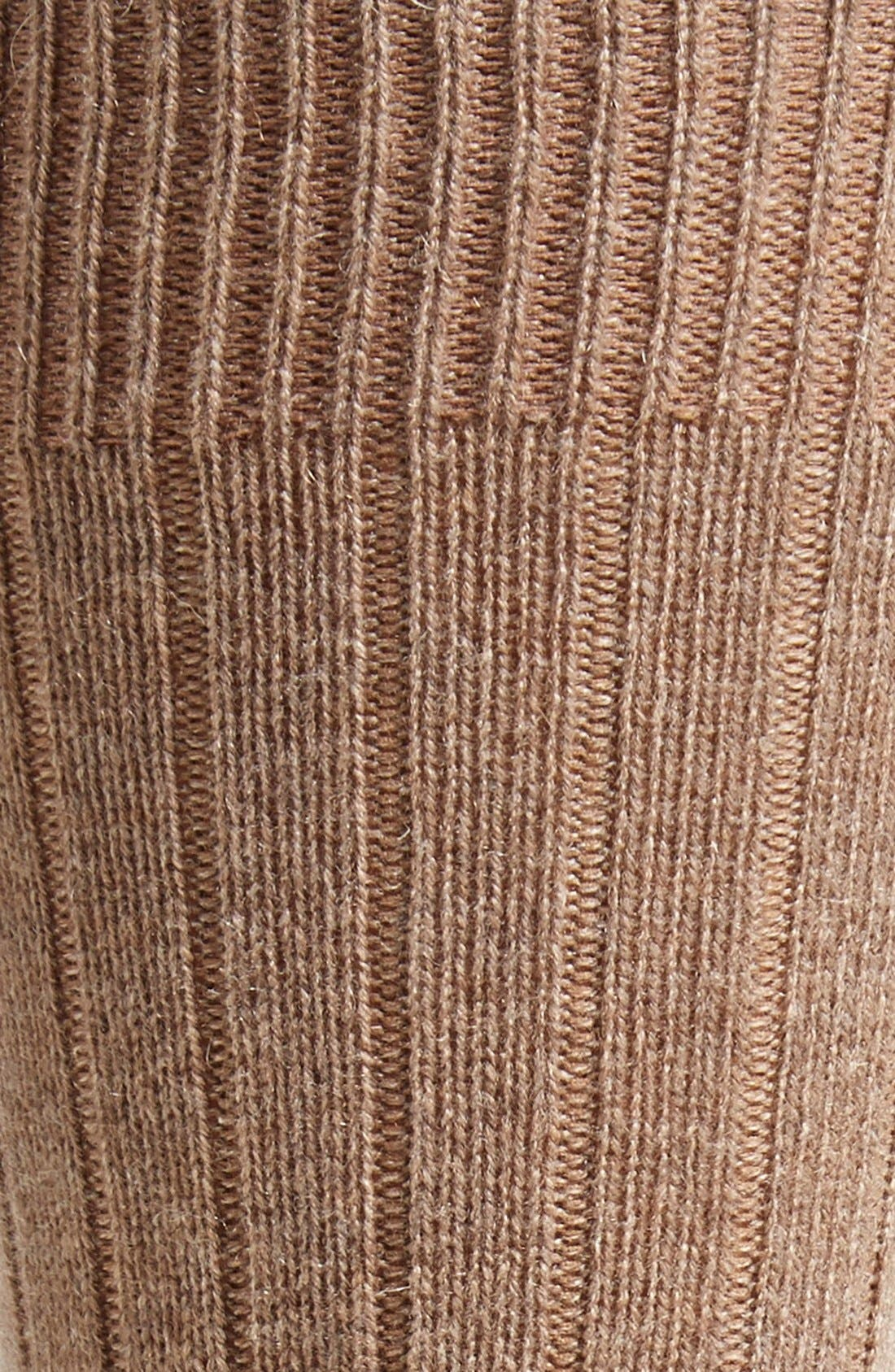 'Waddington' Cashmere Blend Mid Calf Socks,                             Alternate thumbnail 18, color,