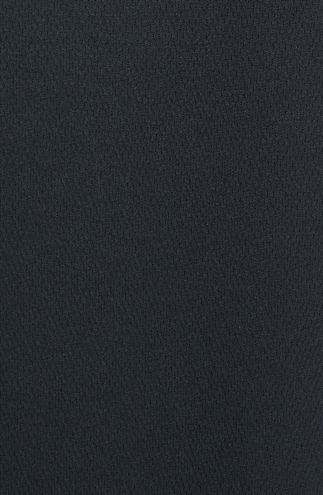 Oakland Raiders - Edge DryTec Moisture Wicking Half Zip Pullover,                             Alternate thumbnail 3, color,                             001