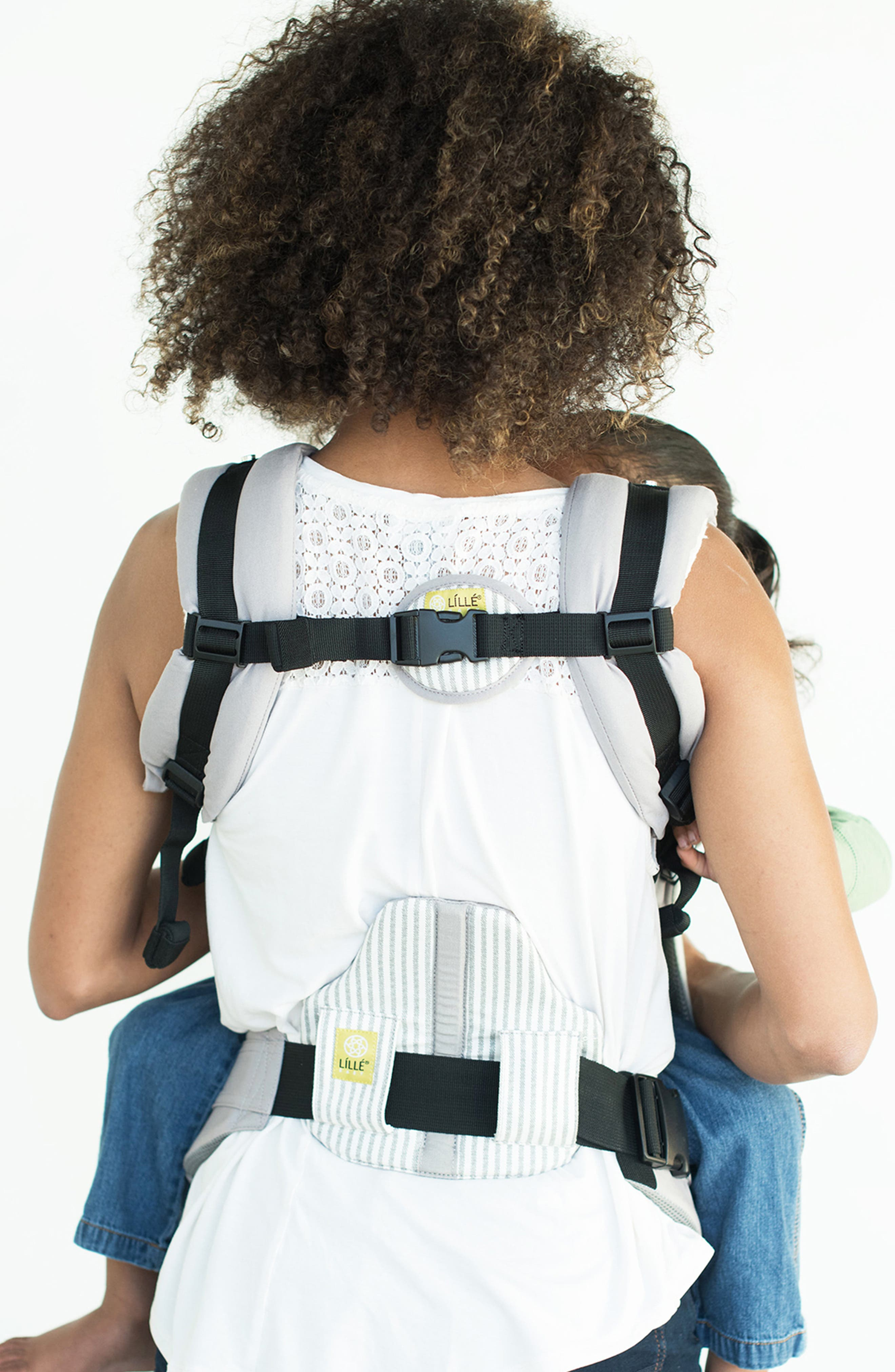 LILLEBABY,                             All Seasons - Silver Lining Baby Carrier,                             Alternate thumbnail 2, color,                             SILVER LINING