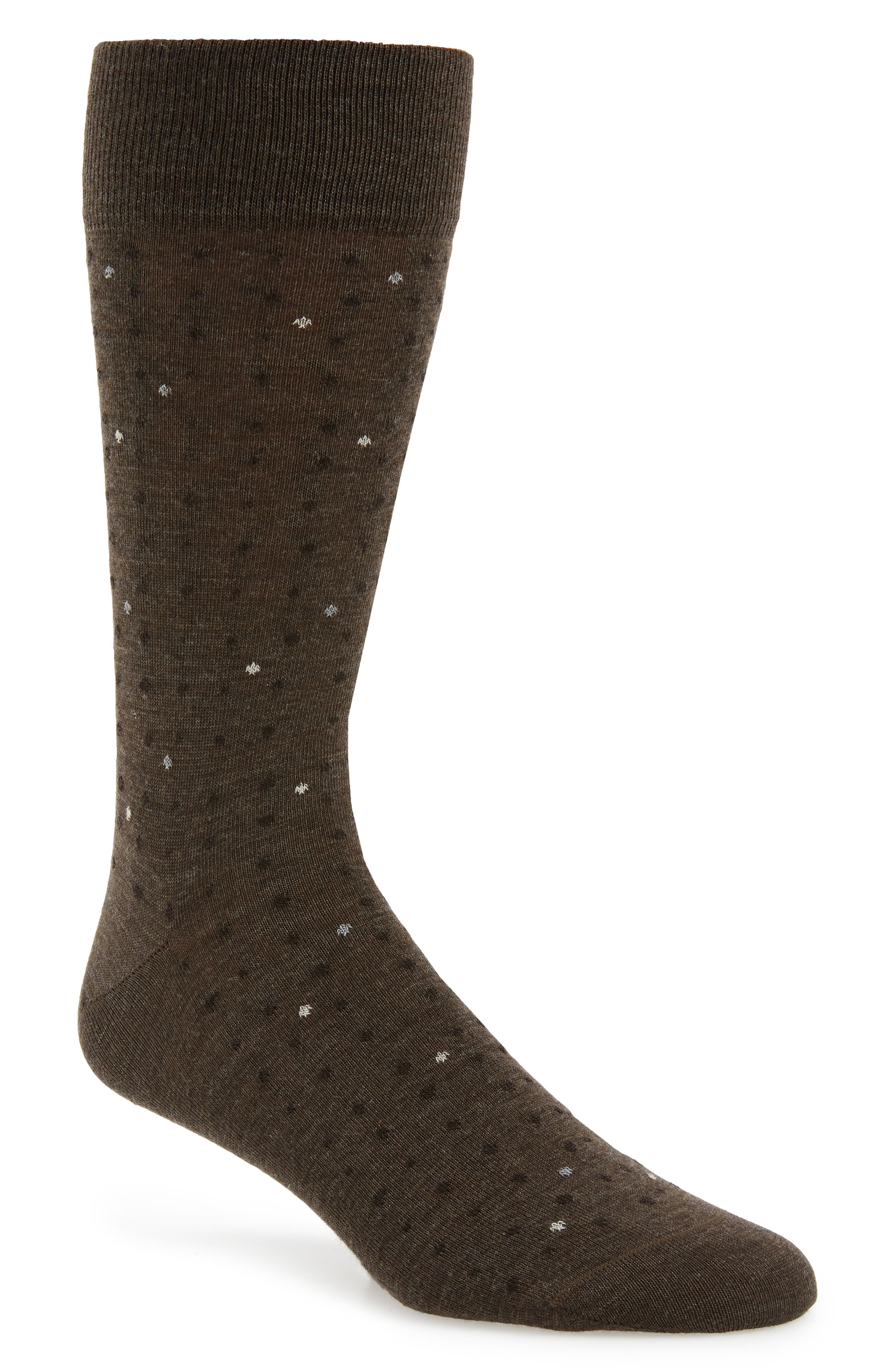 Scattered Points Socks,                         Main,                         color, 210