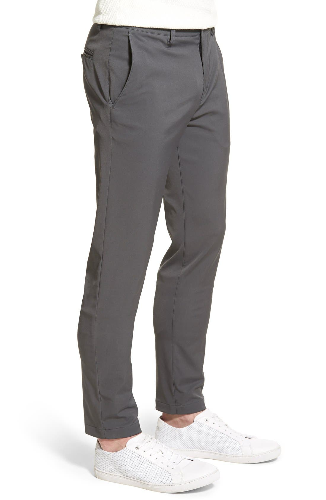'Zaine Neoteric' Slim Fit Pants,                             Alternate thumbnail 2, color,                             021