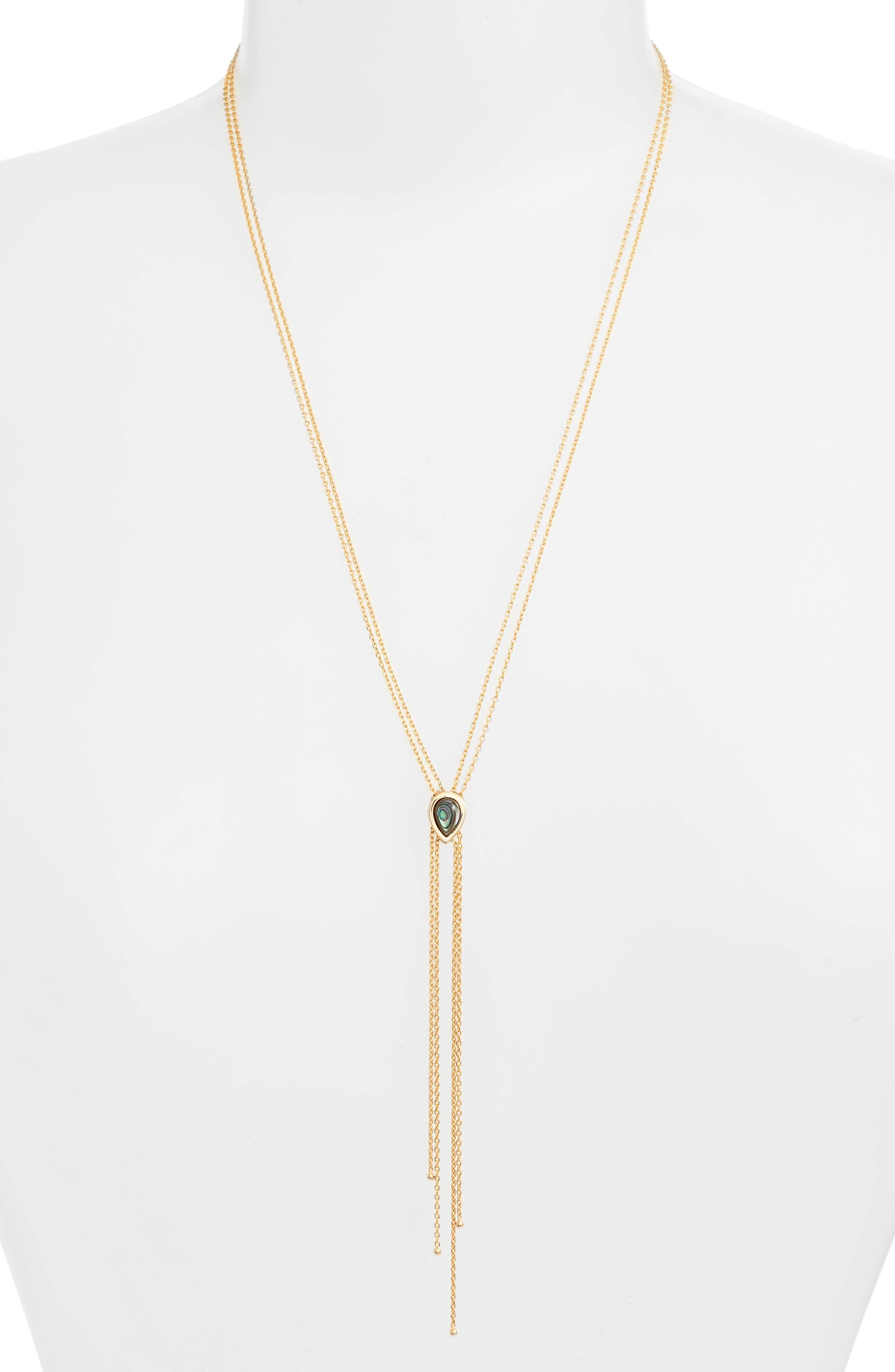 Dawson Lariat Necklace,                         Main,                         color, 710