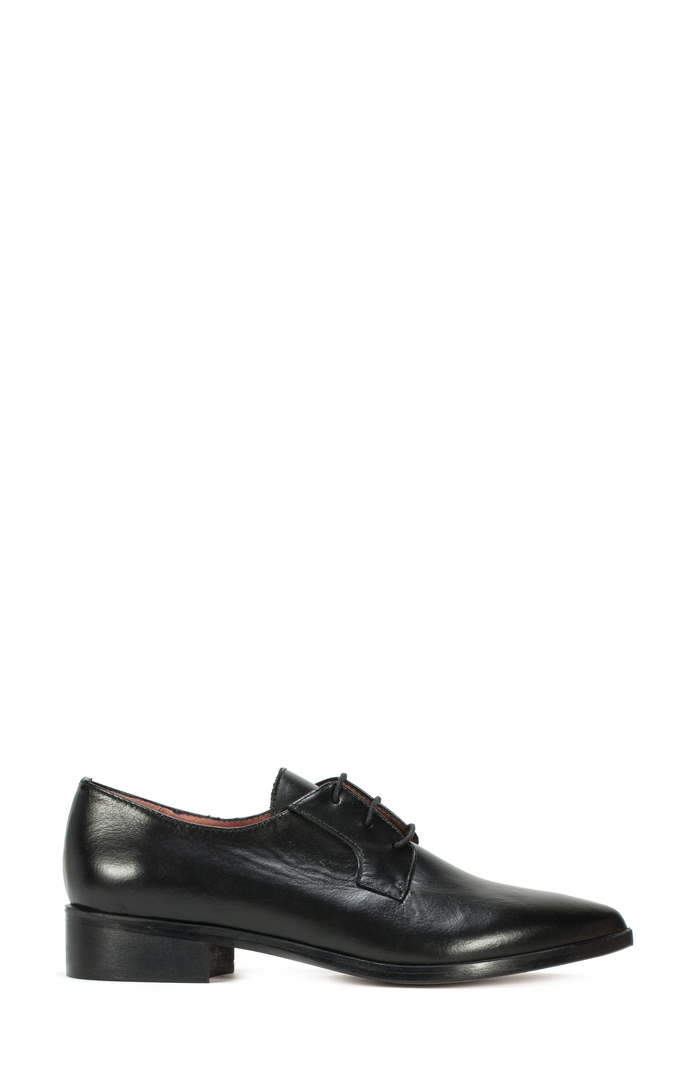 Summit Adrina Pointy Toe Oxford,                             Alternate thumbnail 3, color,                             001