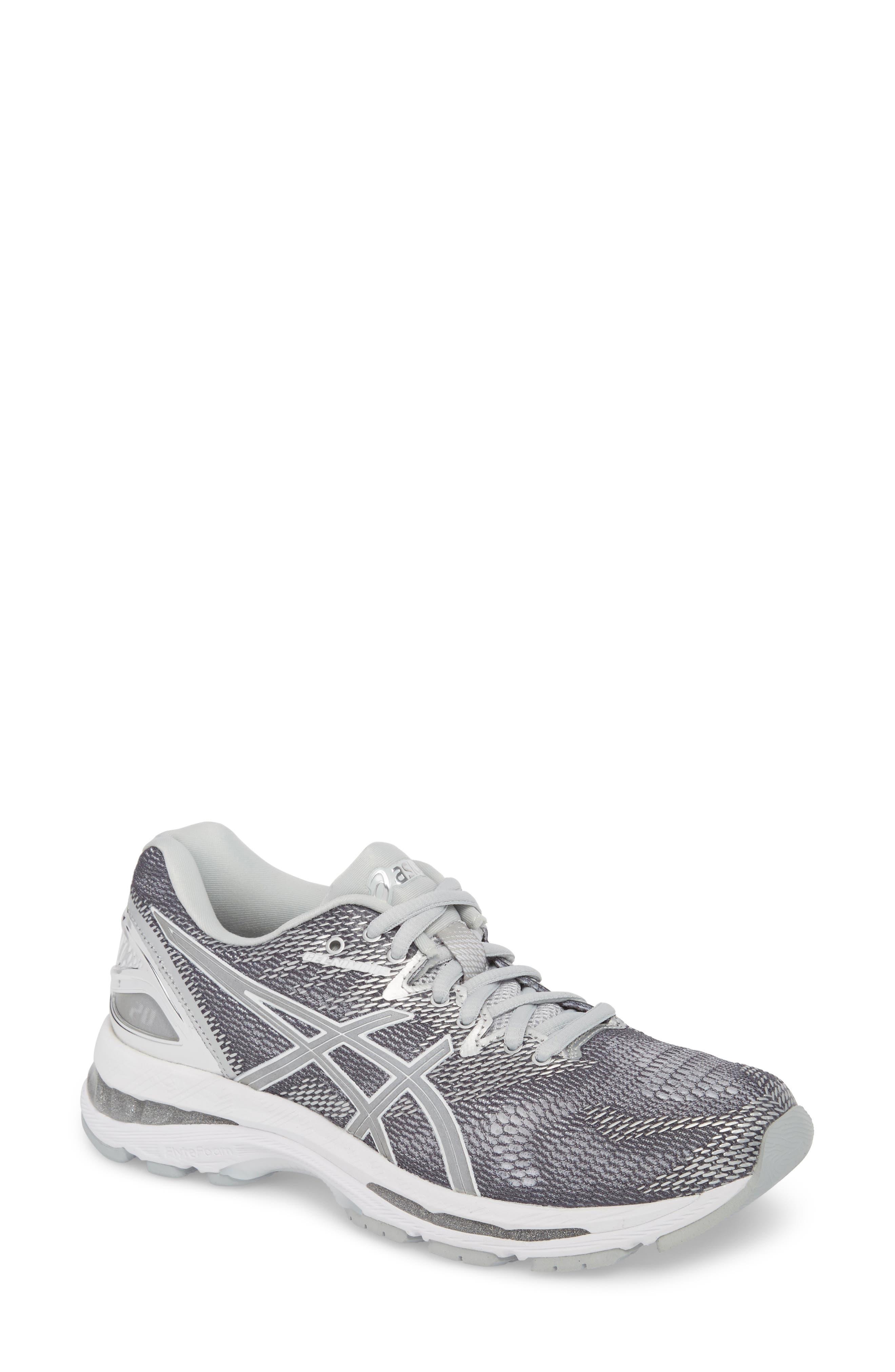 GEL-Nimbus 20 Platinum Running Shoe,                             Main thumbnail 1, color,                             097
