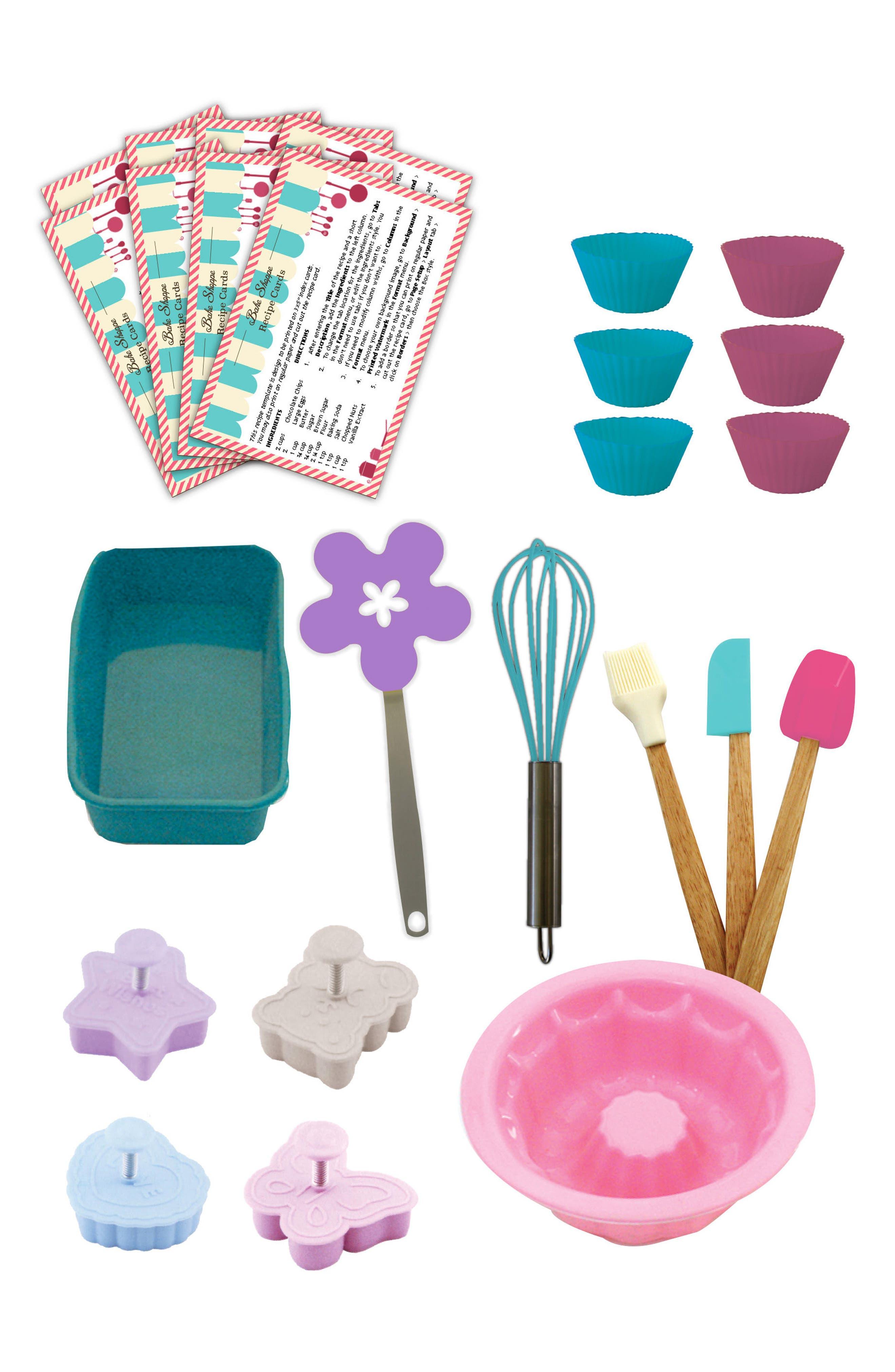 Bake Shoppe Deluxe Baking Kit,                             Alternate thumbnail 4, color,                             MULTI