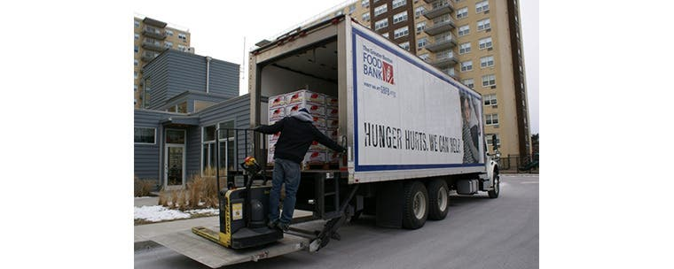 The Greater Boston Food Bank.