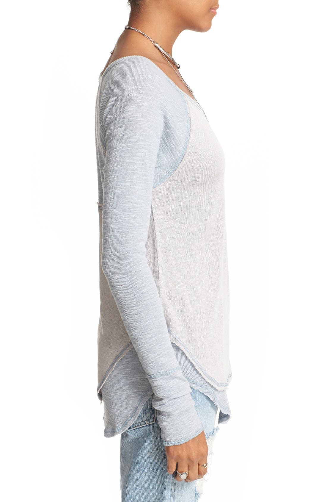 We the Free by Free People Friday Feelin Tee,                             Alternate thumbnail 19, color,