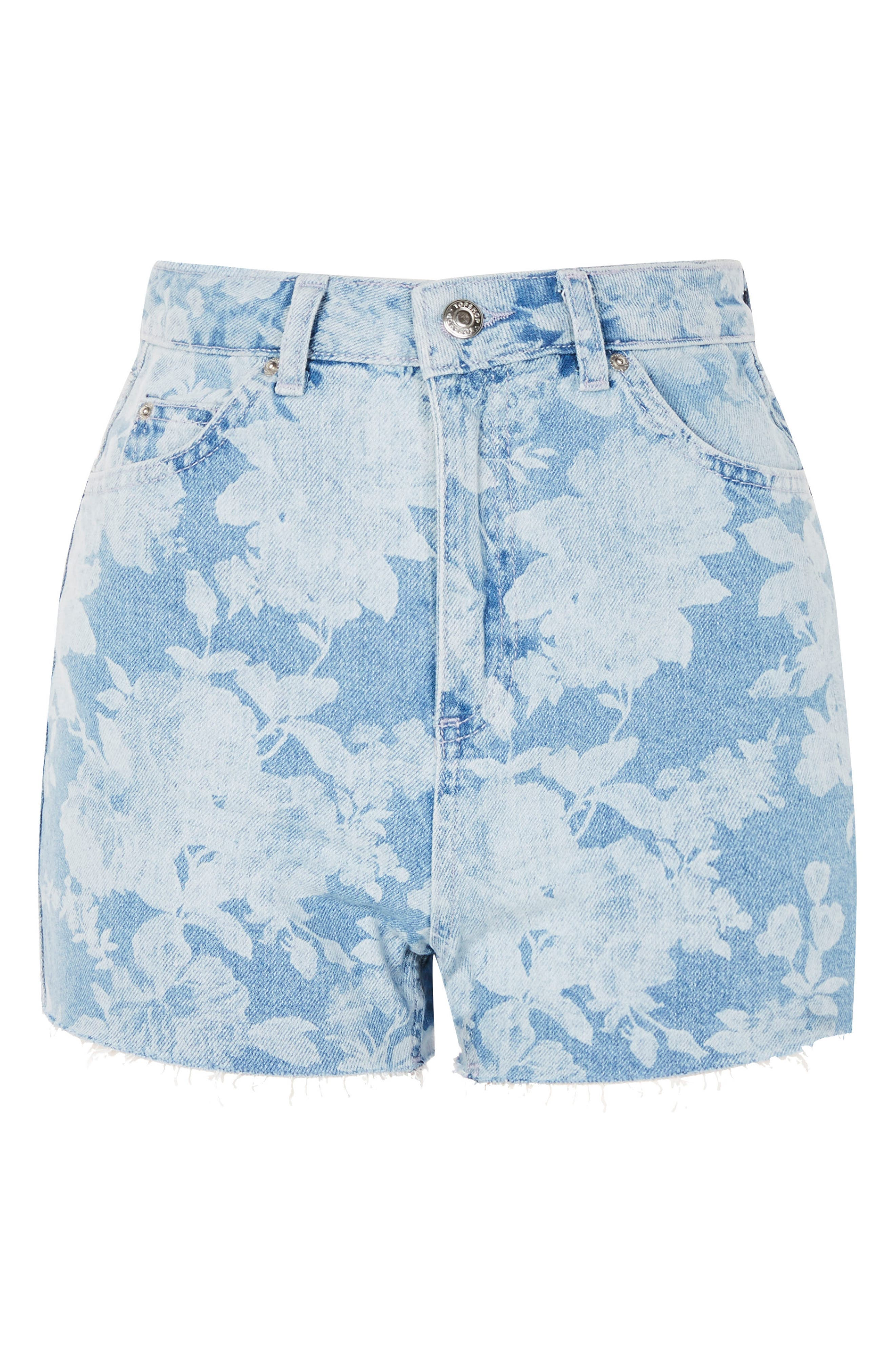 Floral Mom Shorts,                             Alternate thumbnail 3, color,