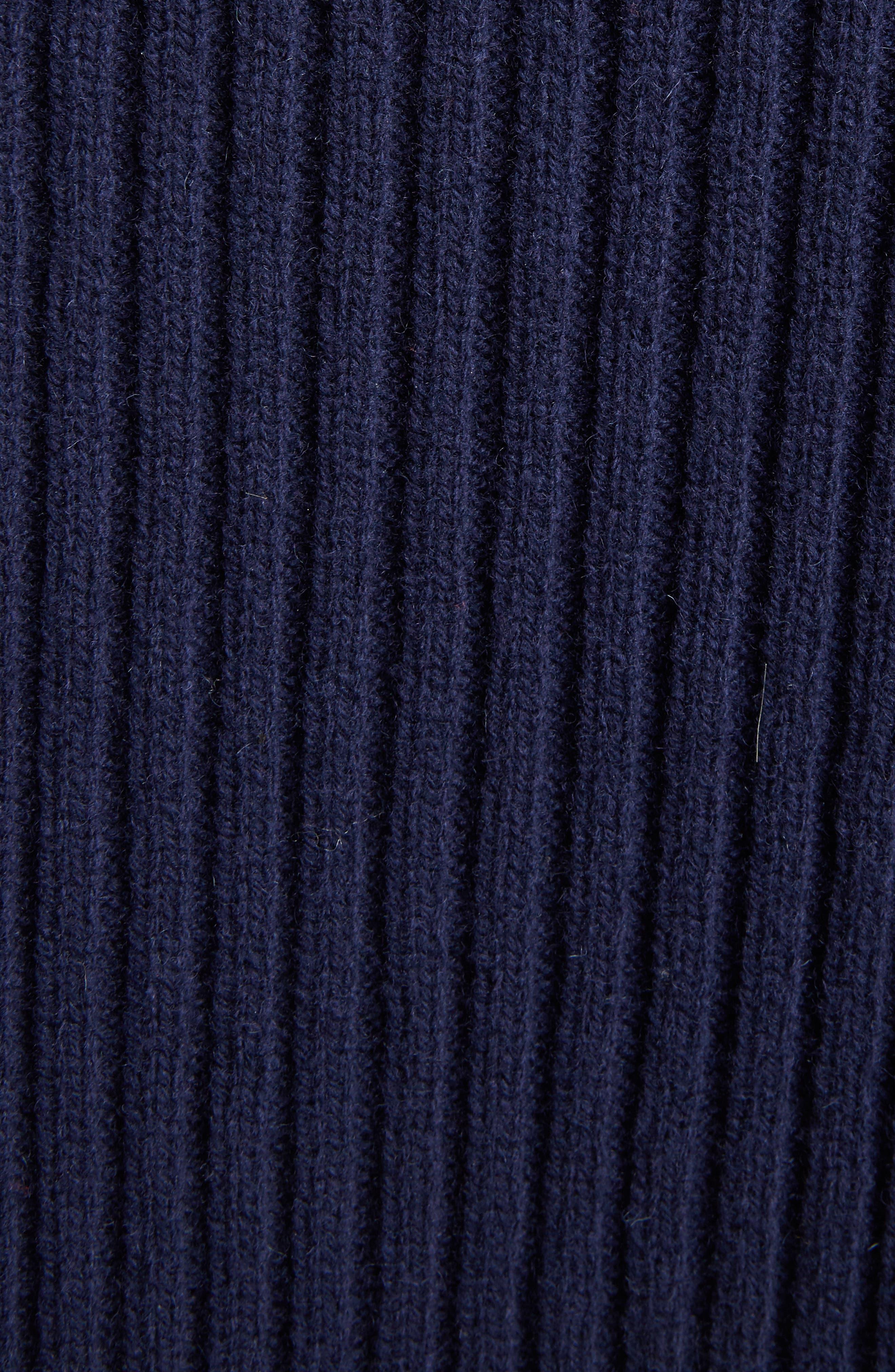 Sleeveless Turtleneck Sweater,                             Alternate thumbnail 5, color,                             410
