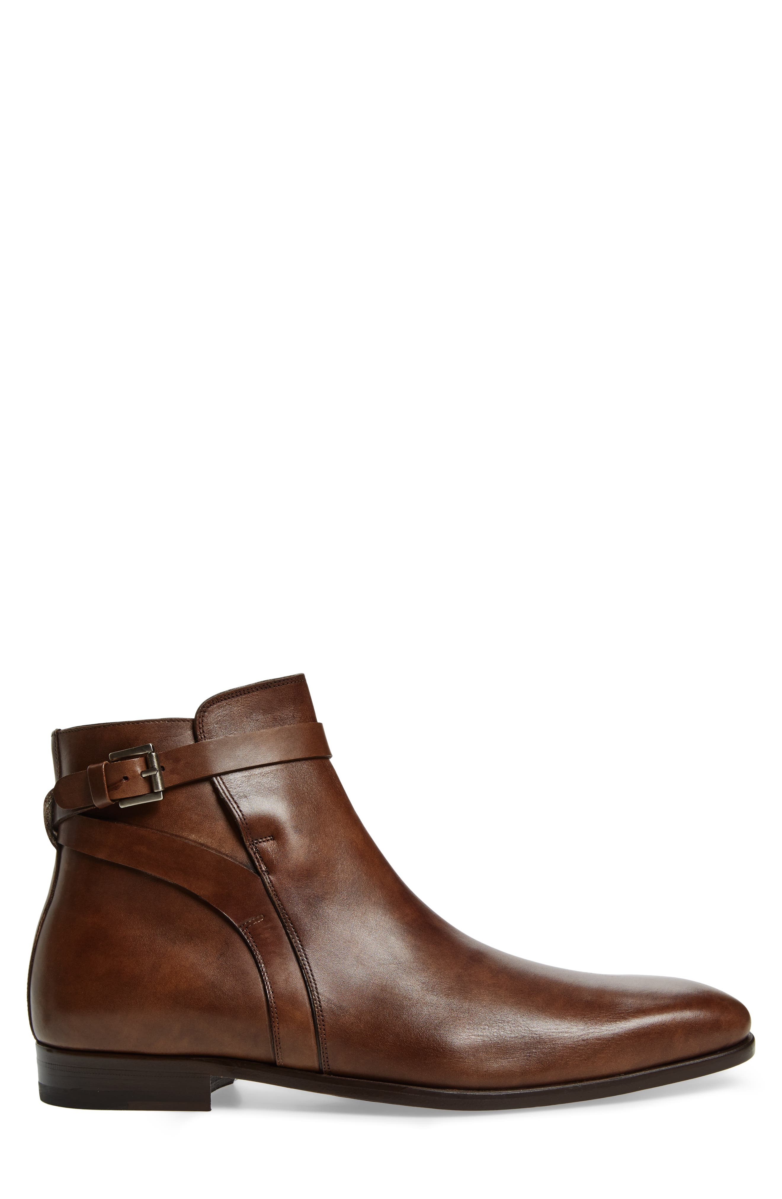 Viso Zip Boot,                             Alternate thumbnail 3, color,                             TAUPE LEATHER