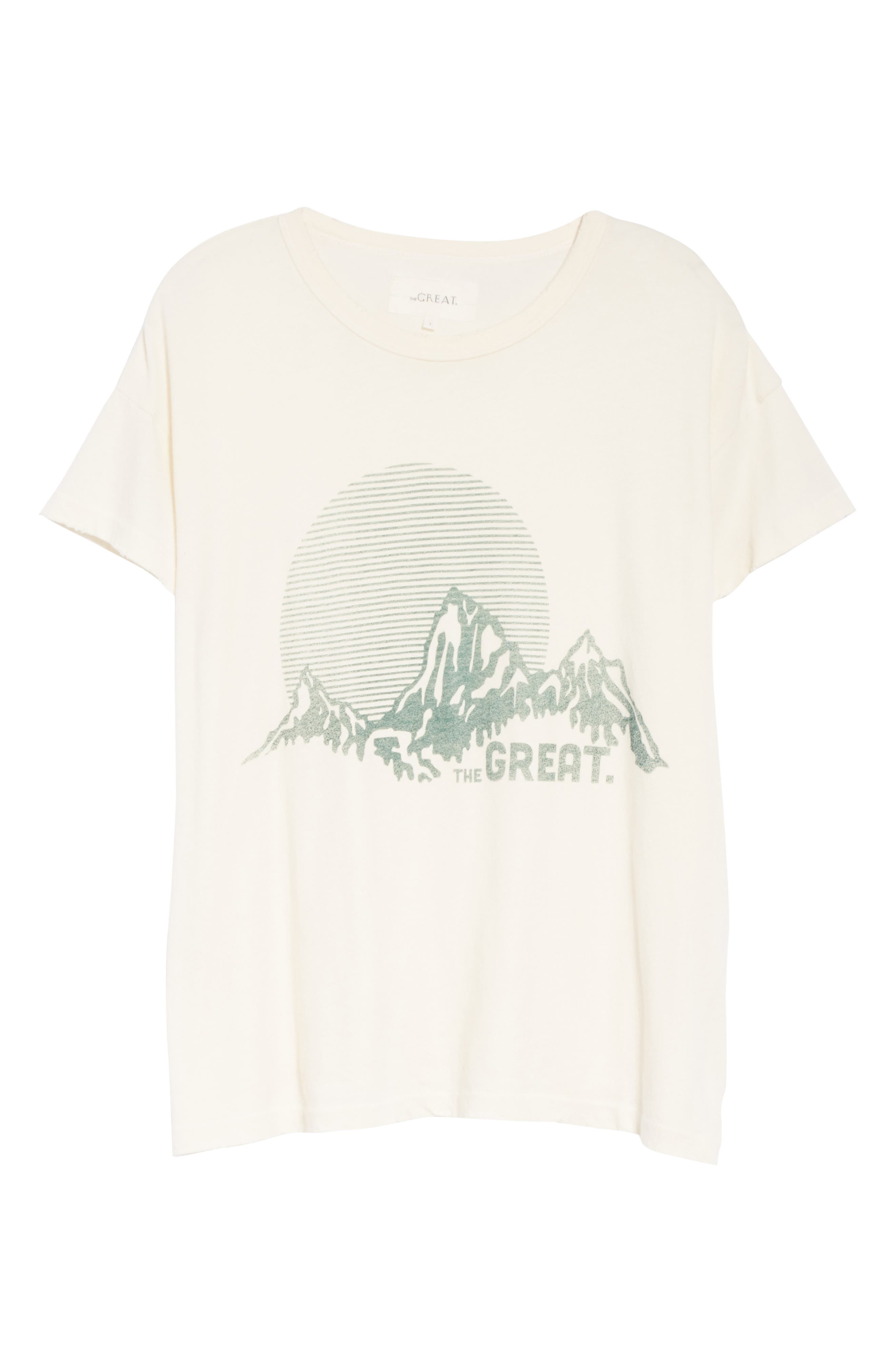 The Boxy Graphic Tee,                             Alternate thumbnail 16, color,