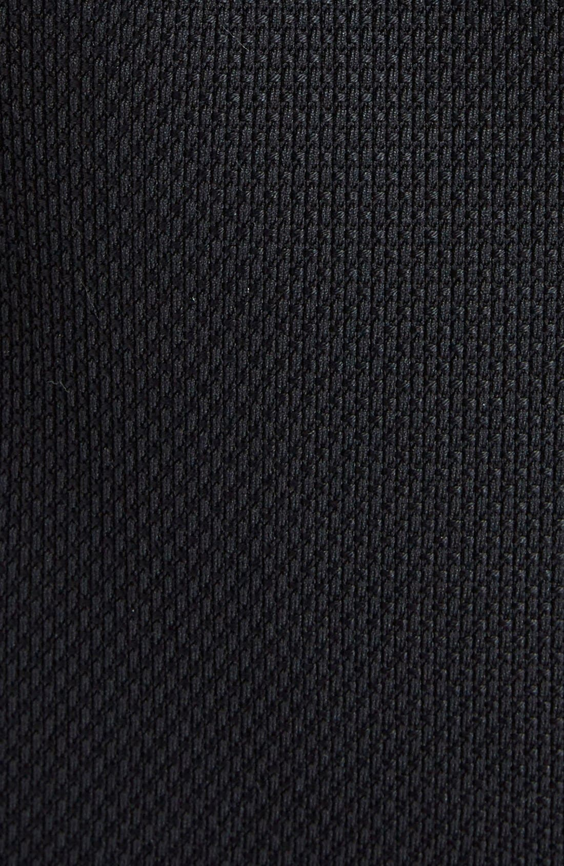 Stretch Cotton Biker Jacket,                             Alternate thumbnail 10, color,                             BLACK