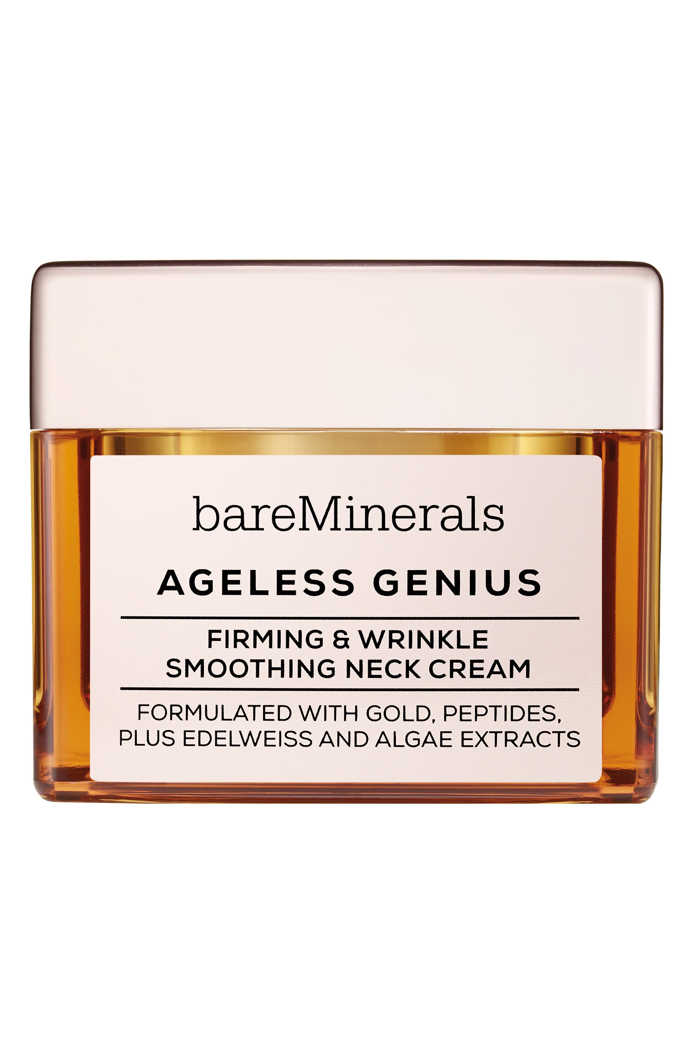 Ageless Genius Firming & Wrinkle Smoothing Neck Cream,                             Main thumbnail 1, color,                             NO COLOR
