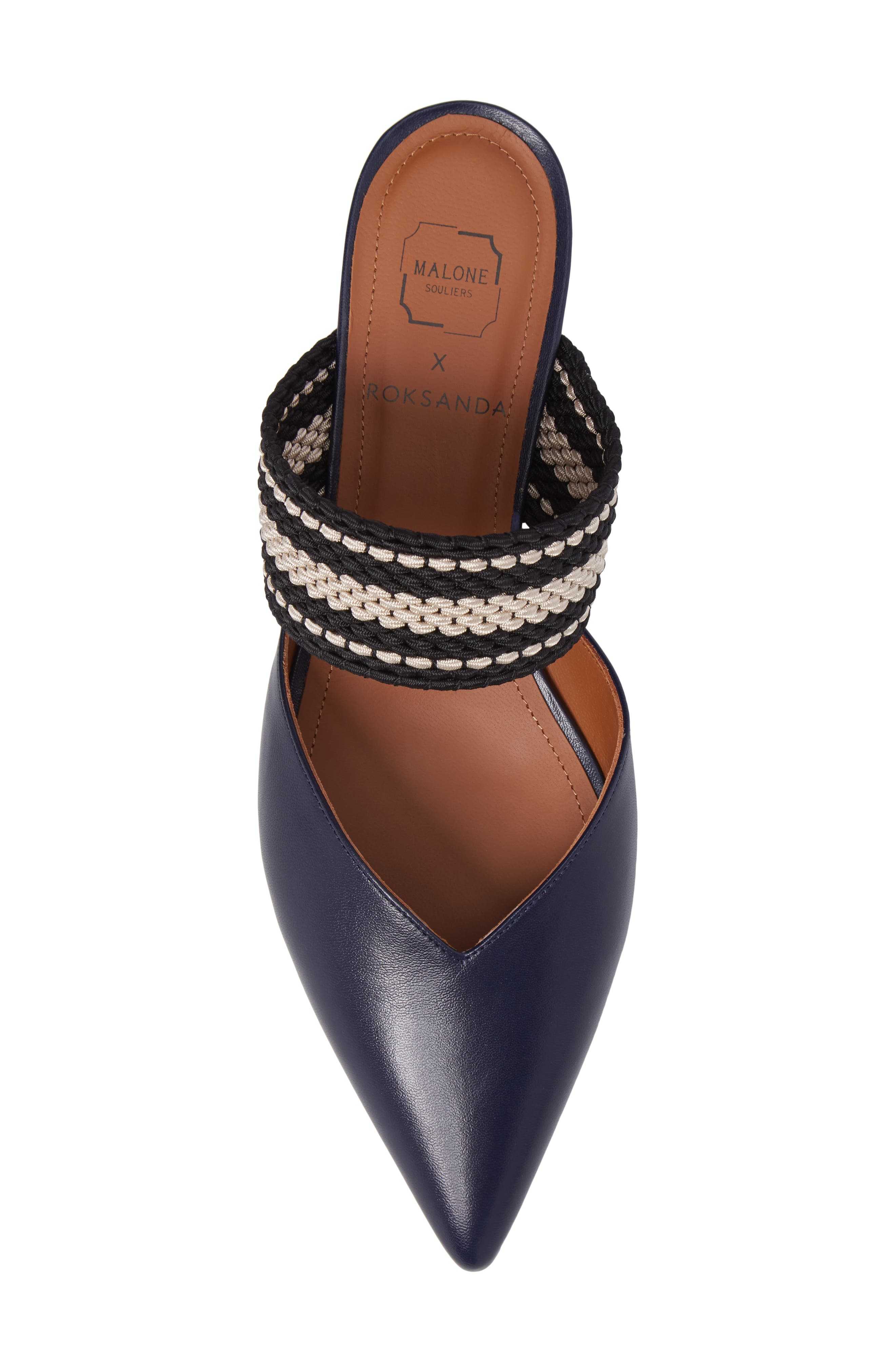 Malone Souliers Hannah Pointy Toe Mule,                             Alternate thumbnail 5, color,                             400